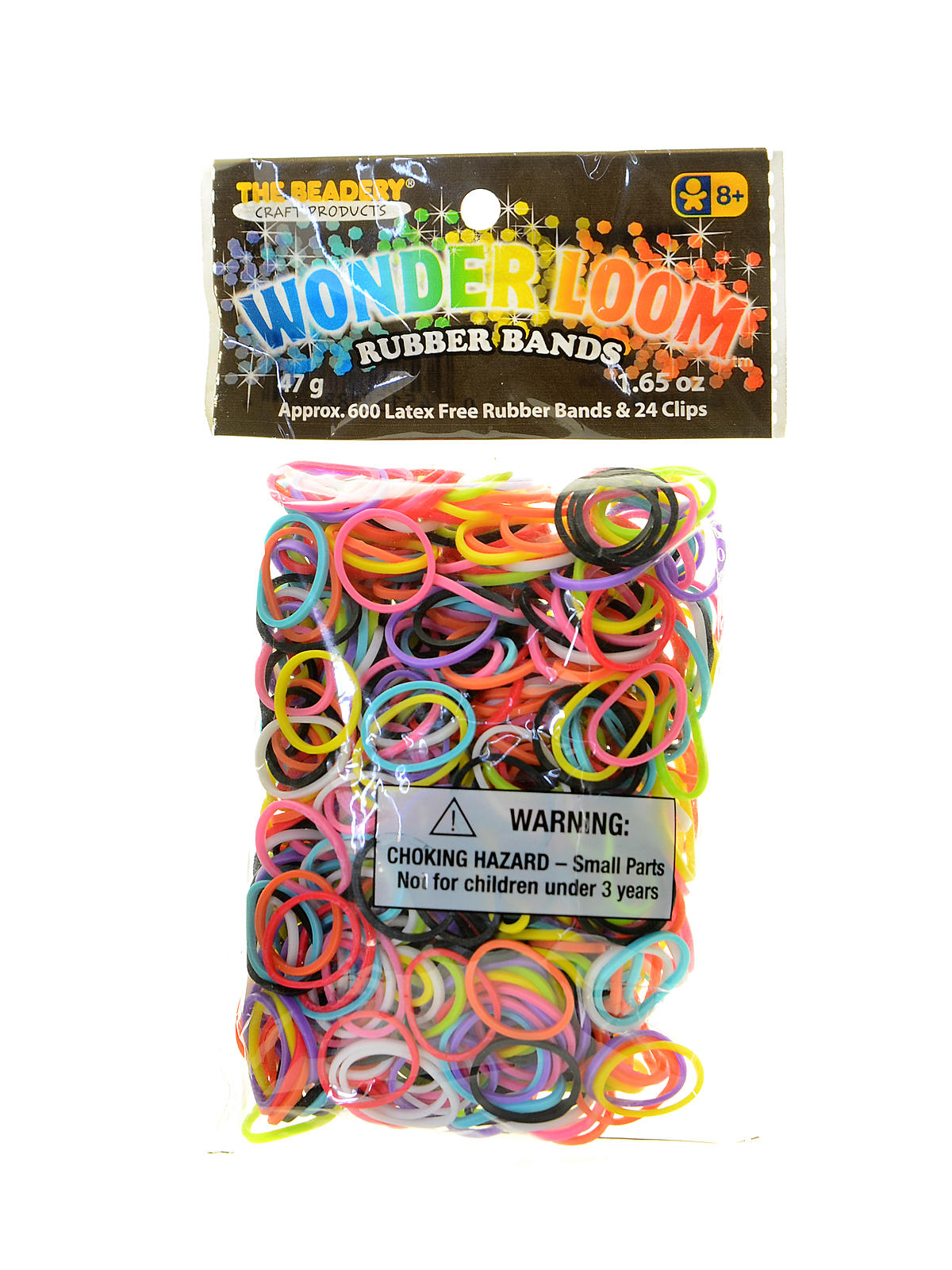 New Pack Of BRIGHT PINK 600 Loom Bands,Clips,Tool