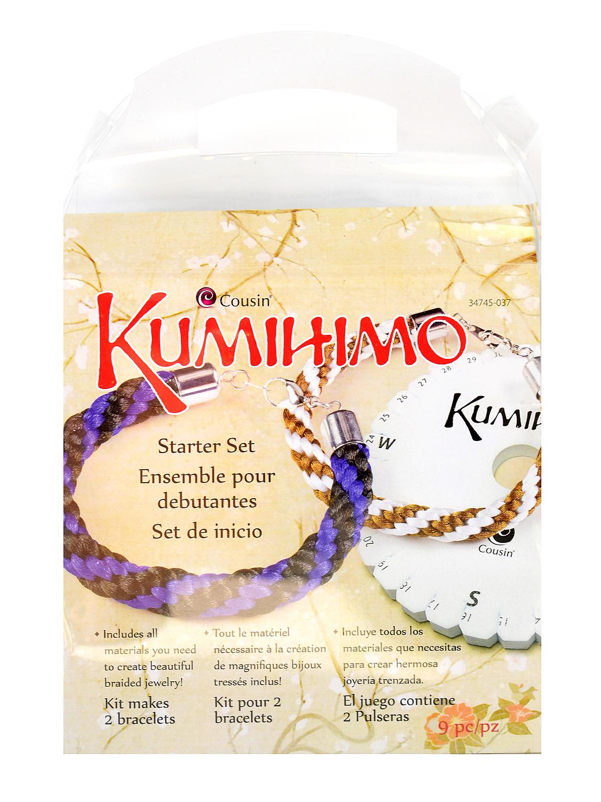 Kumihimo Starter Sets Round Each
