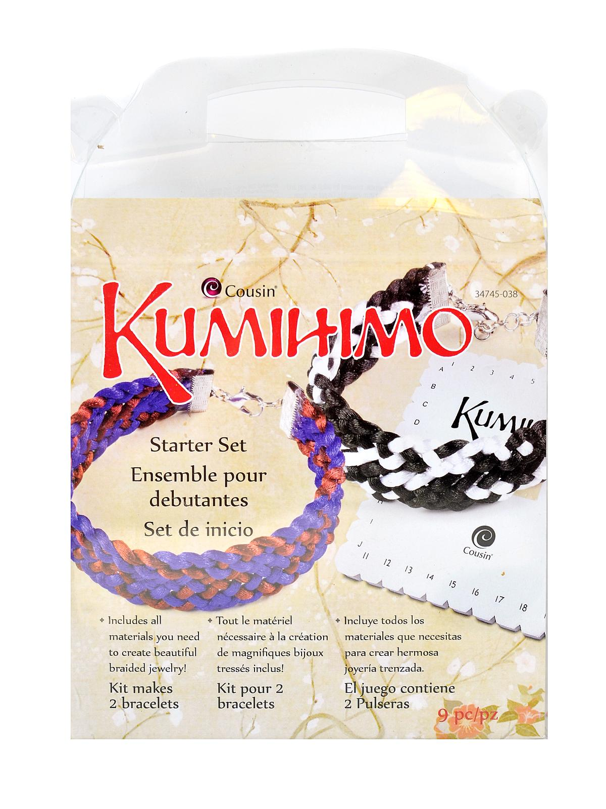 Kumihimo Starter Sets Square Each