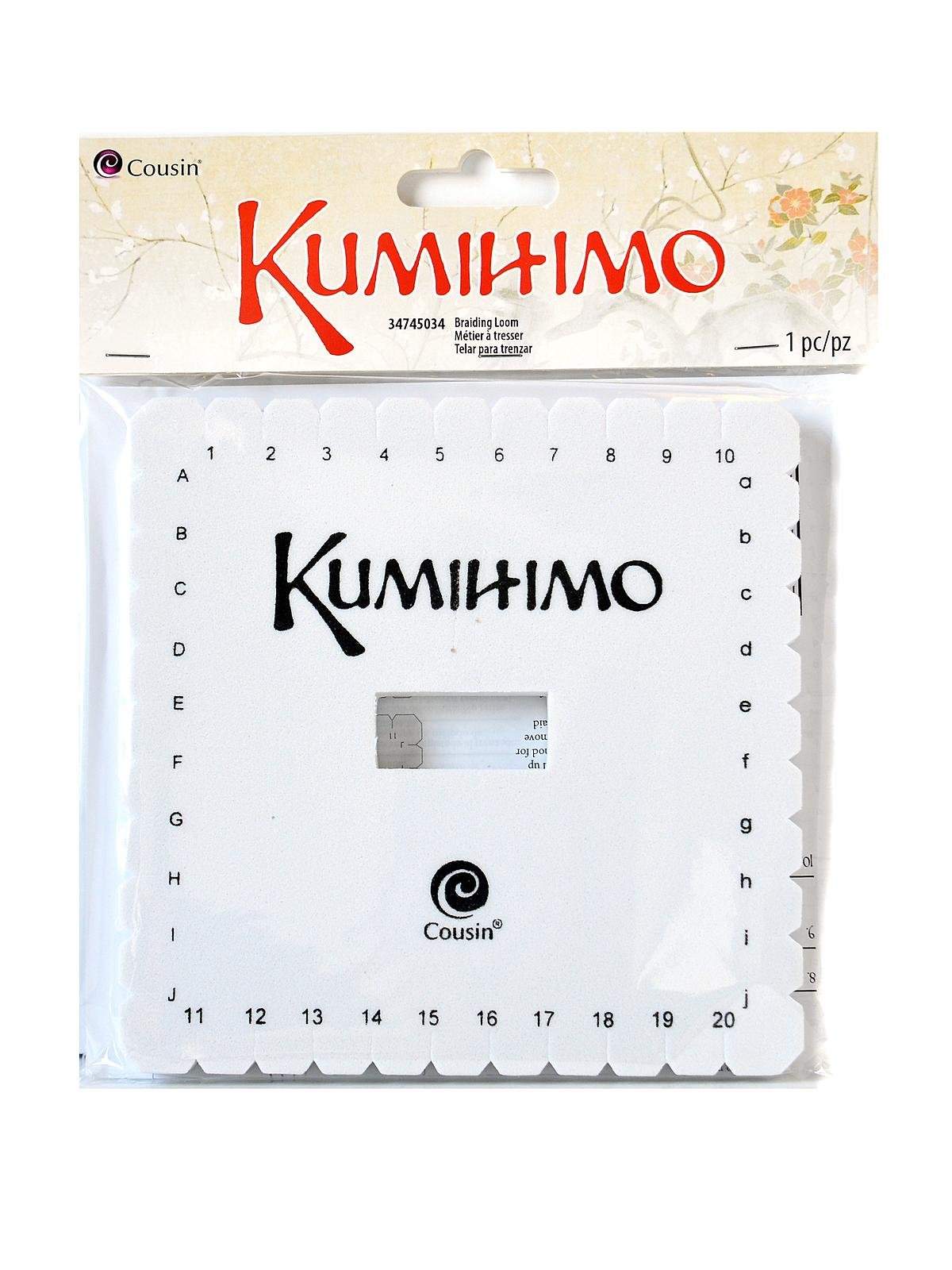 Kumihimo Discs Square Each