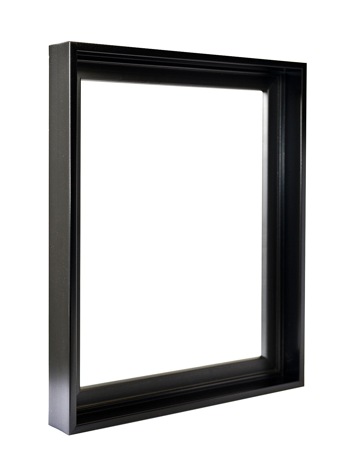 stretched canvas floater frames black 24 in x 30 in