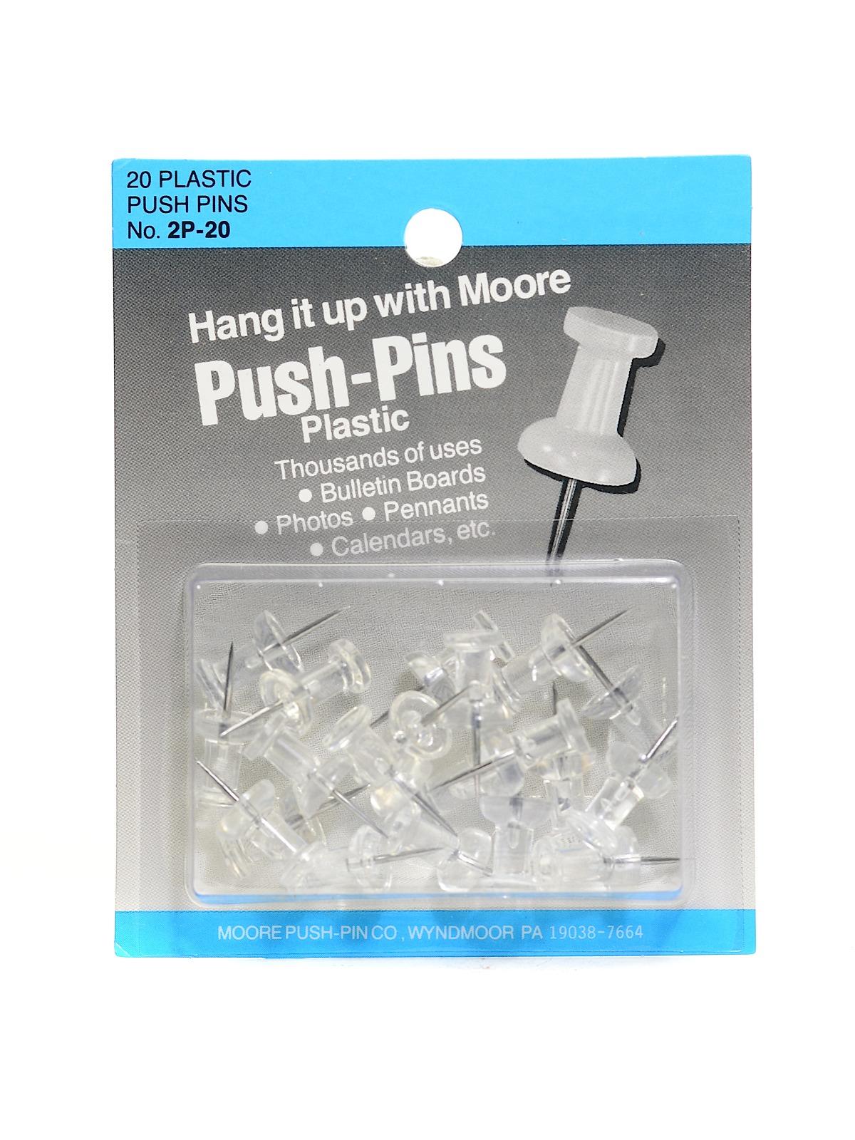 Moore Push Pins | MisterArt.com