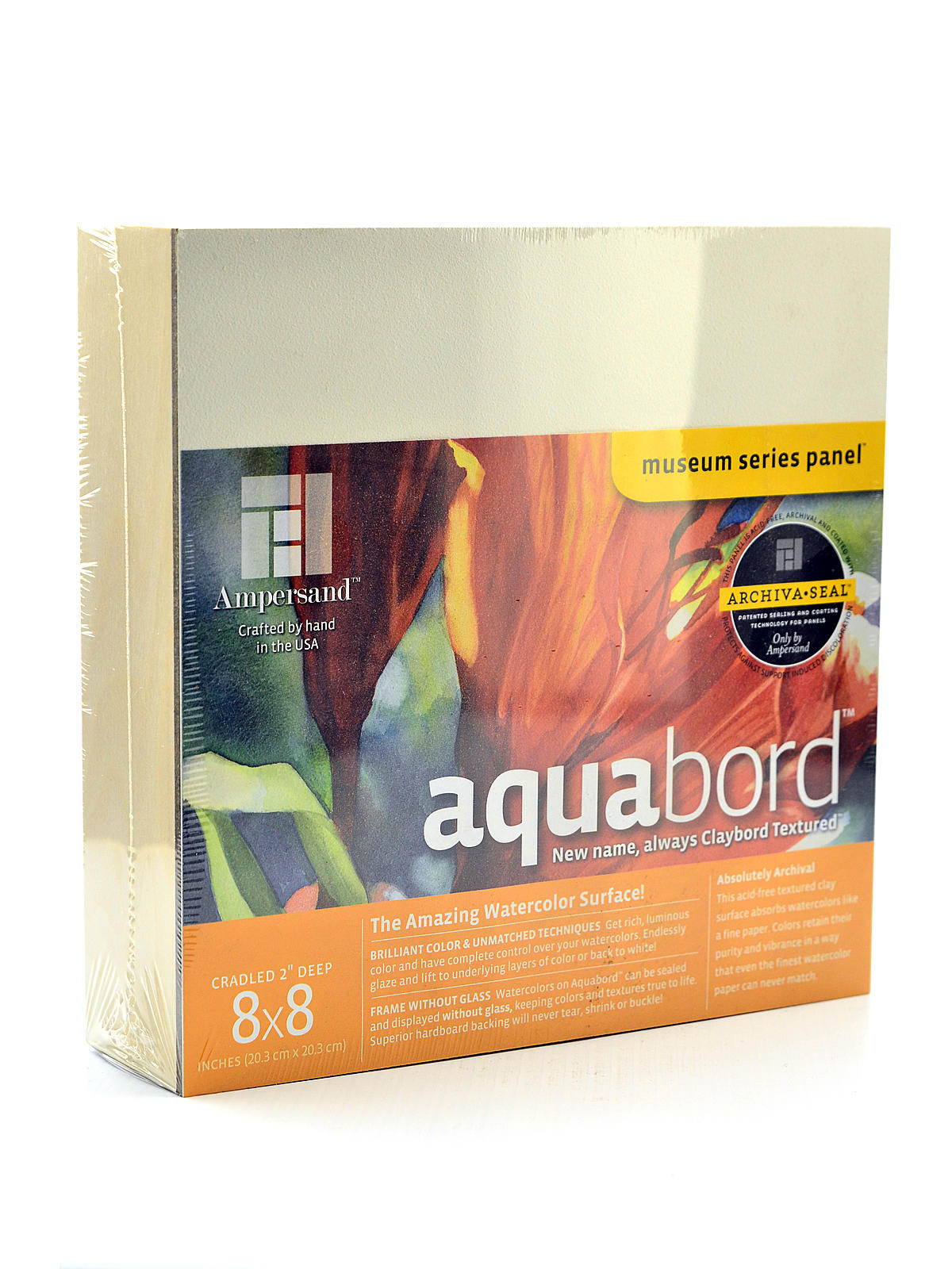 x 20 in. Ampersand Deep Cradle Aquabord 16 in