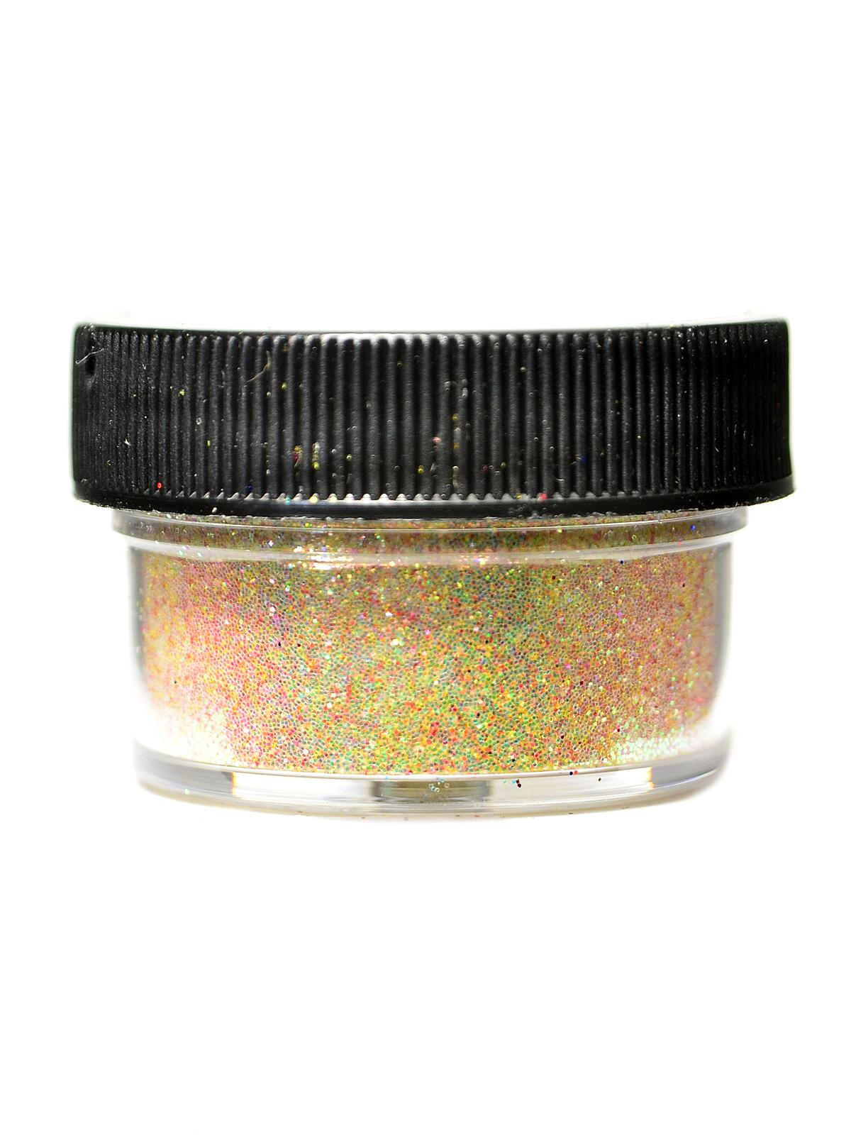Ultrafine Transparent Glitter Flax 1 2 Oz. Jar