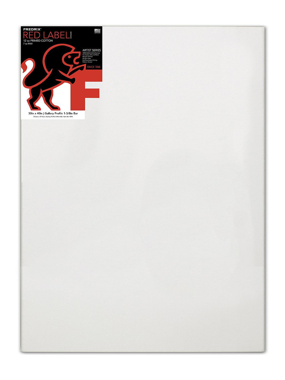 Fredrix Gallerywrap Stretched Canvas | MisterArt.com