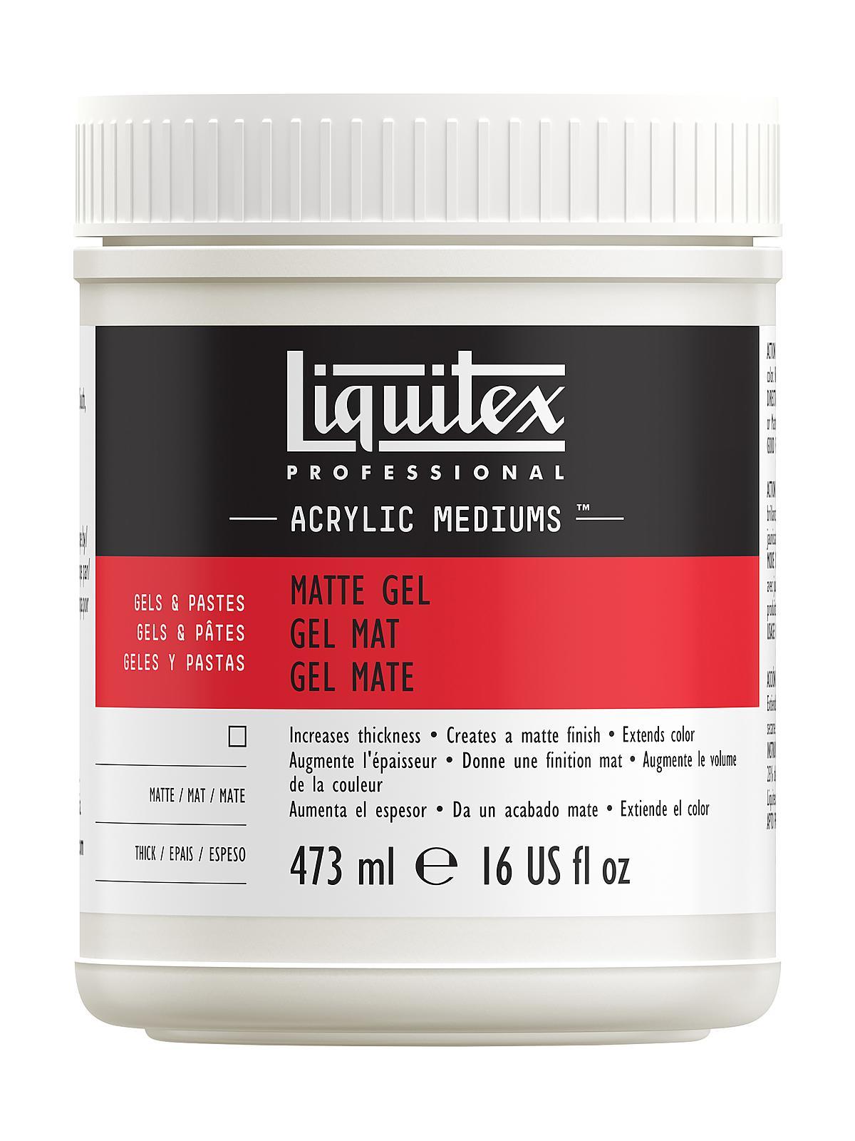 Liquitex Acrylic Matte Gel Medium   MisterArt.com