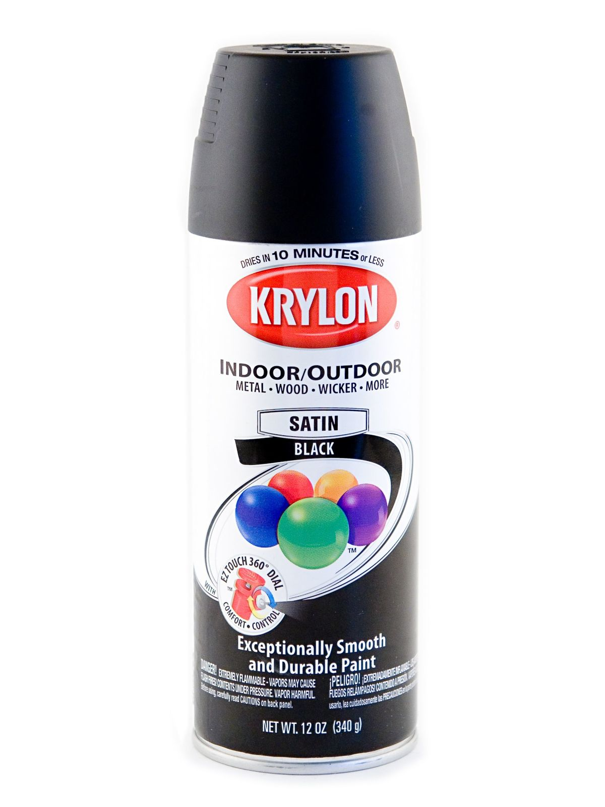 Krylon indoor outdoor spray paint for Can you use interior paint outdoors