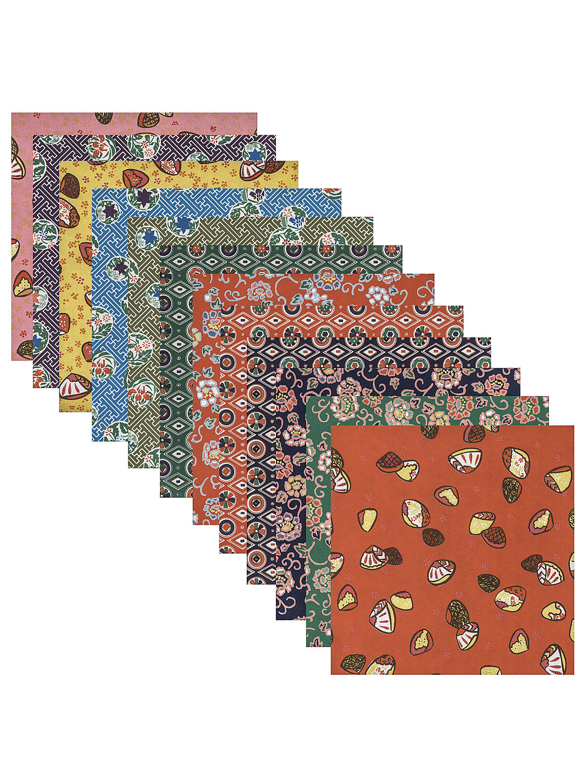 Origami Paper 5 7 8 In. X 5 7 8 In. Washi Chiyogami 24 Sheets