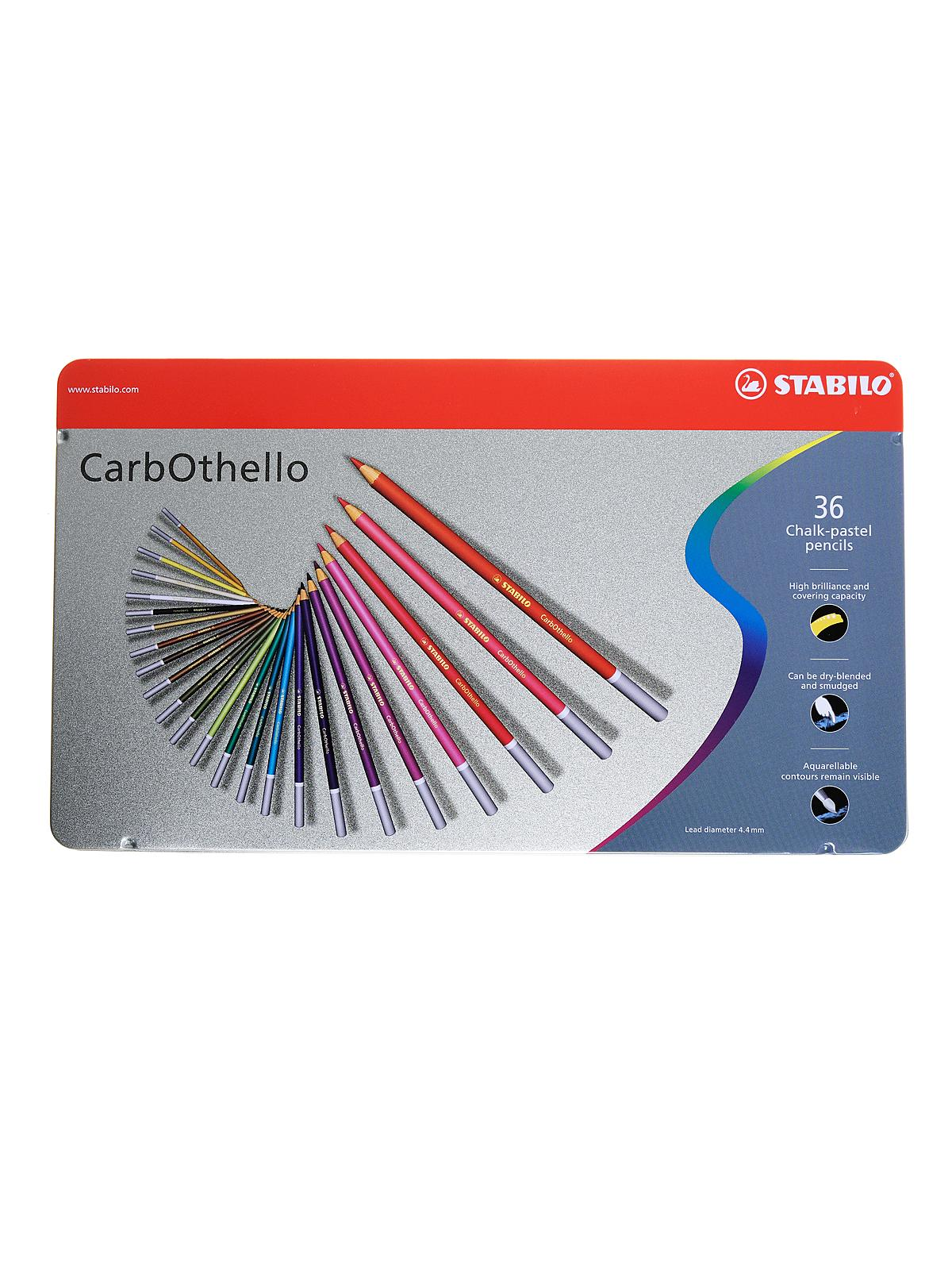 Stabilo Carb-Othello Pastel Pencil Sets | MisterArt.com