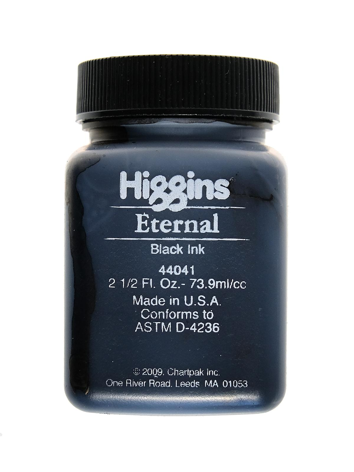 Higgins Eternal Black Writing Ink