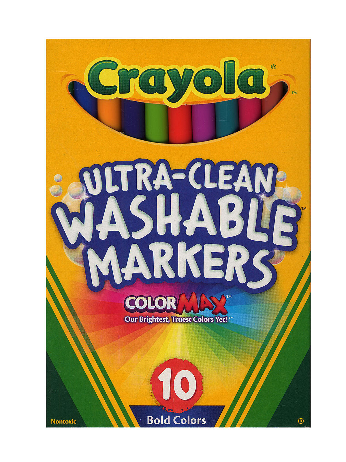crayola bold colors ultra clean washable markers misterart com
