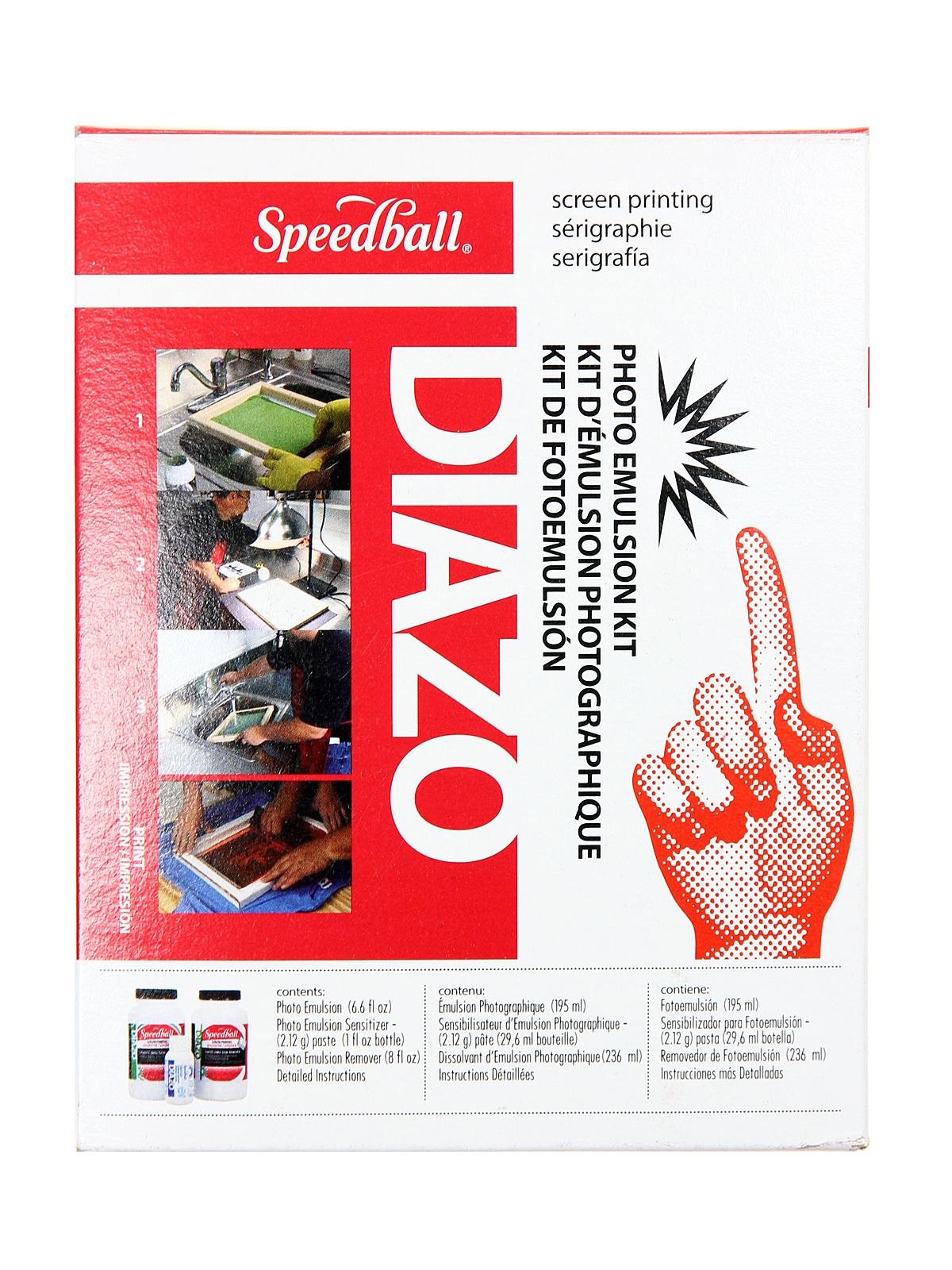 speedball screen printing kit instructions