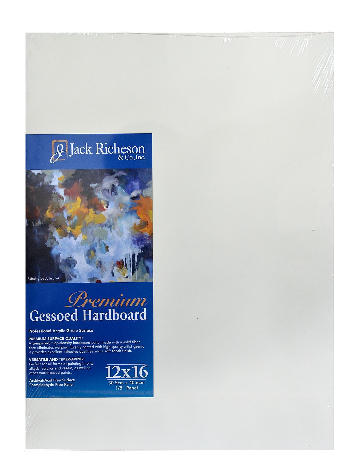 Jack Richeson Gessoed 1/8 in. Hardboard Panels | MisterArt.com