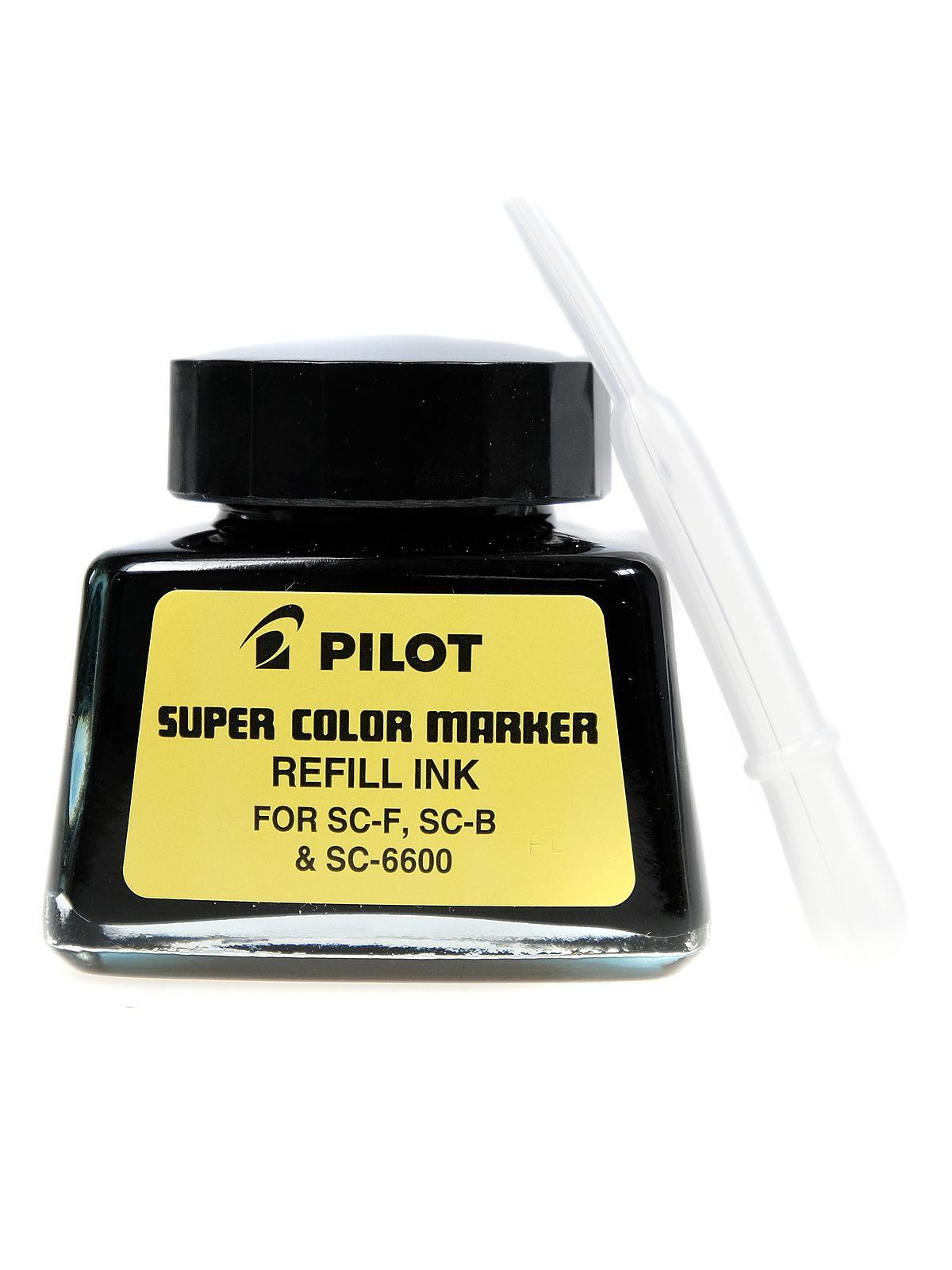 Black Pilot SC-RF Refill Ink for Permanent Markers Pilot 43500 - 1 Each