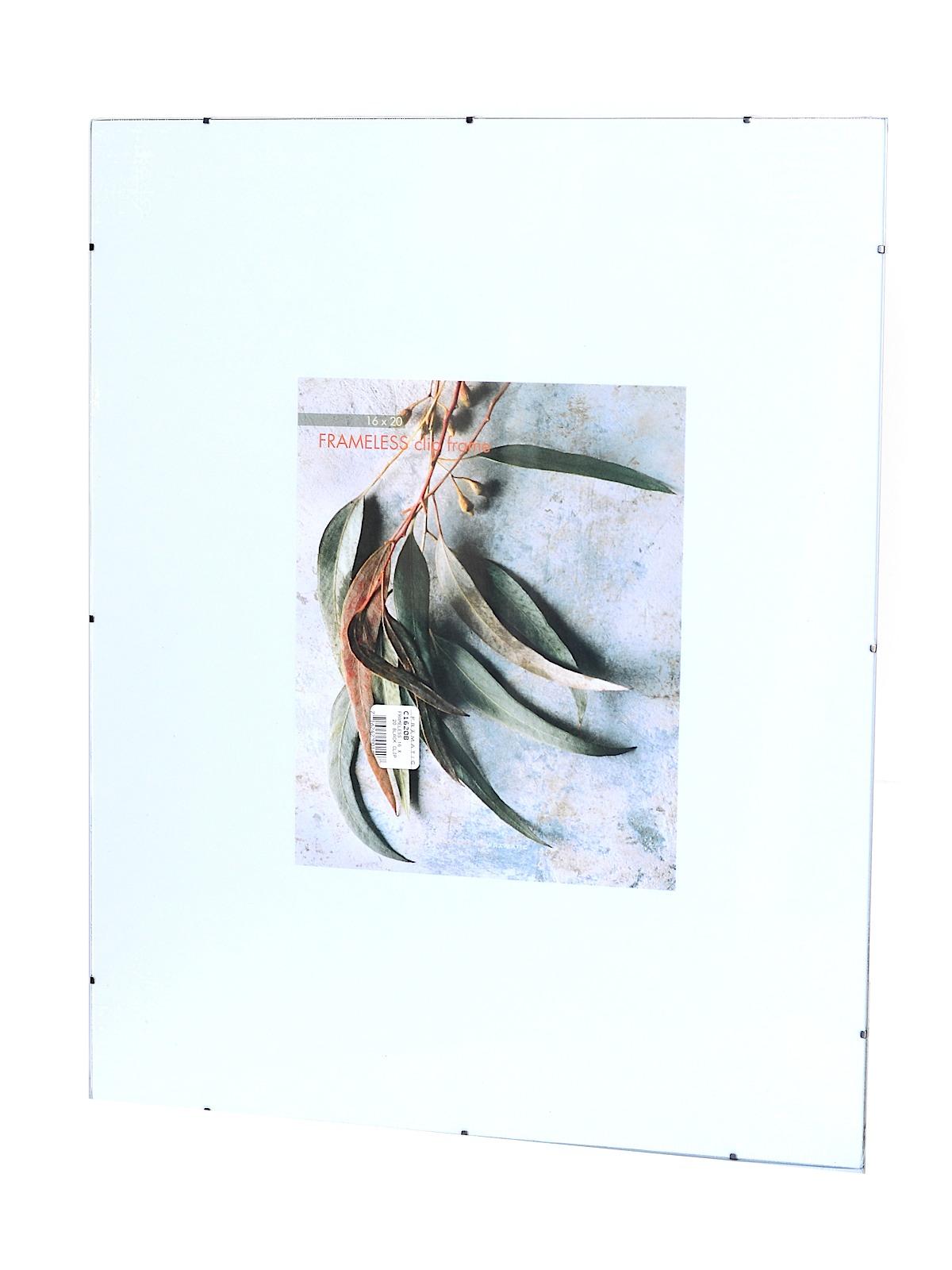 frameless clip frames 16 in x 20 in