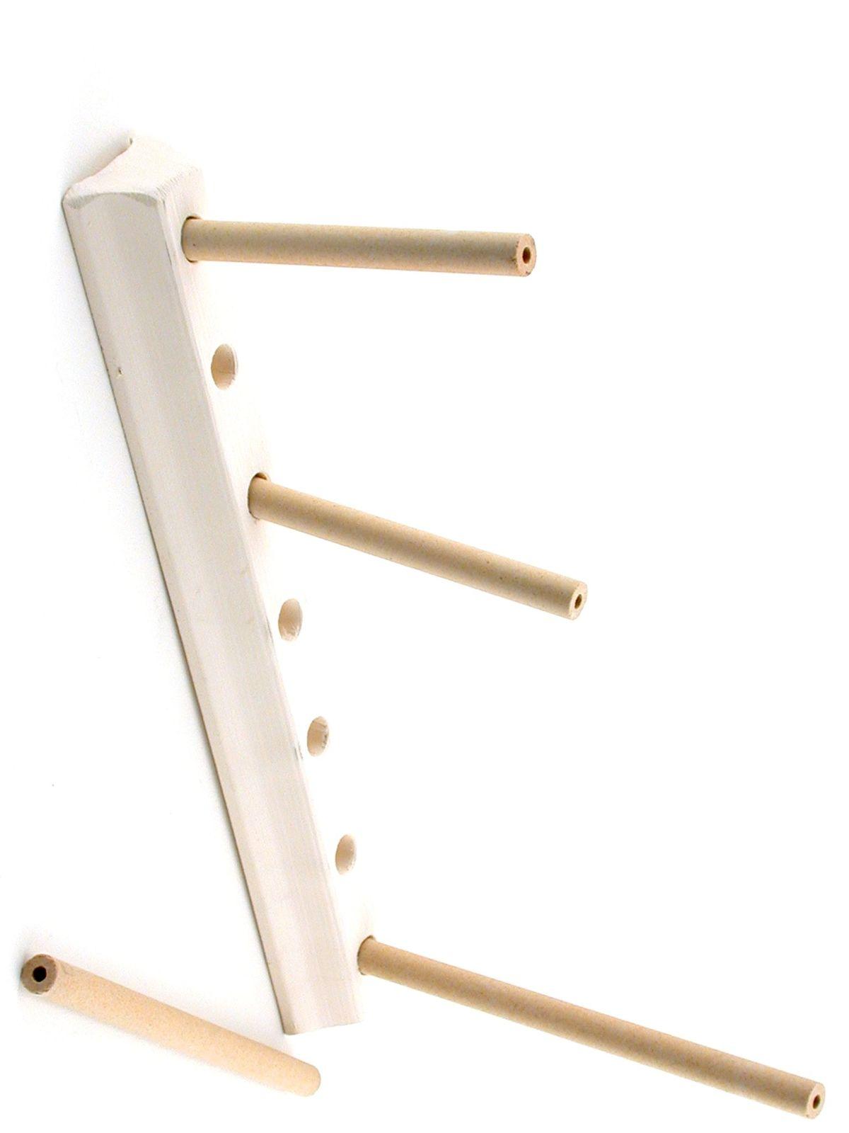 The Ceramic Shop Egg Bar Stilt With Rods Misterart Com