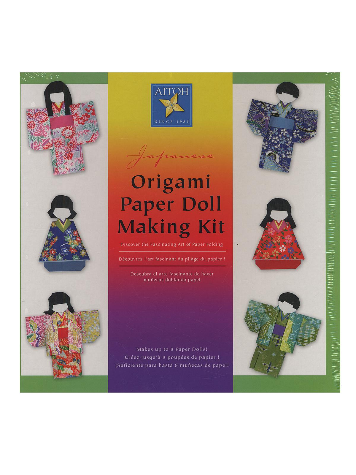 Origami Paper Doll Making Kit Each