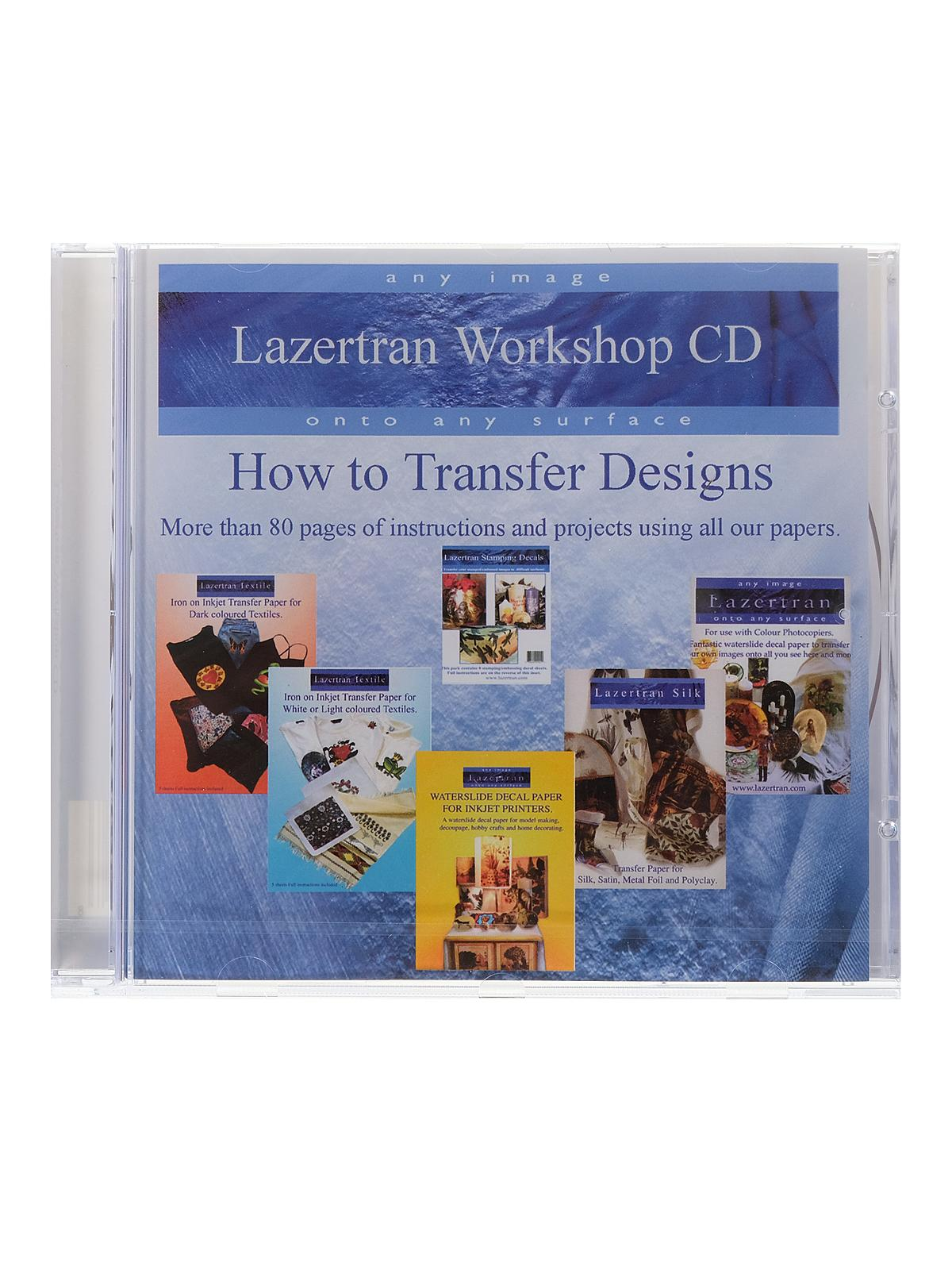 Lazertran Workshop CD Book