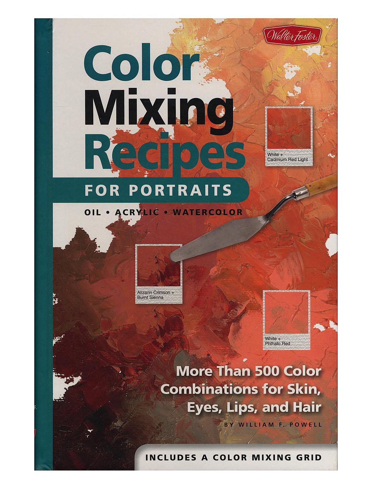 Color Mixing Recipes for Portraits Book | MisterArt.com
