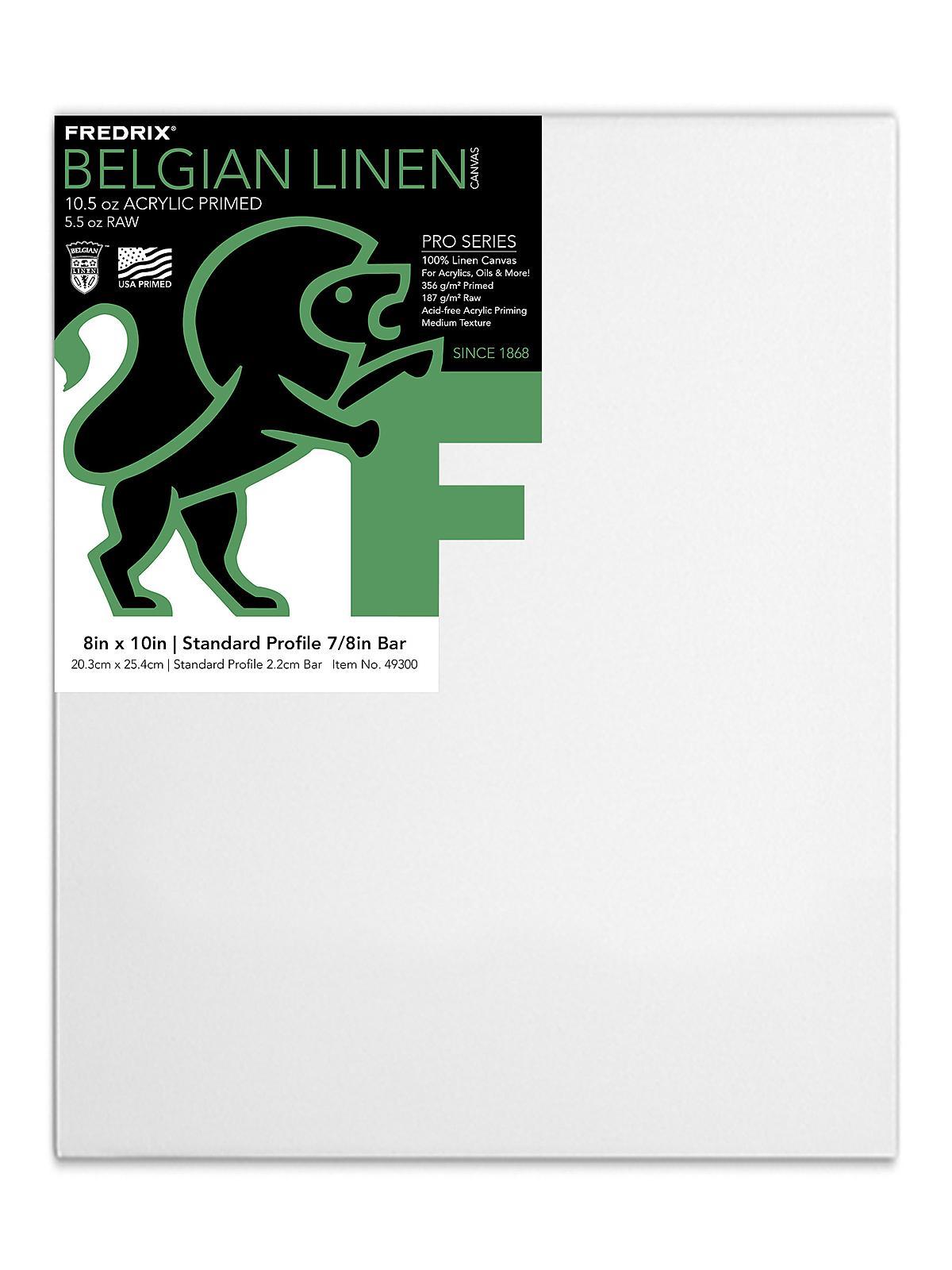 Pro Belgian Linen Pre-Stretched Canvas