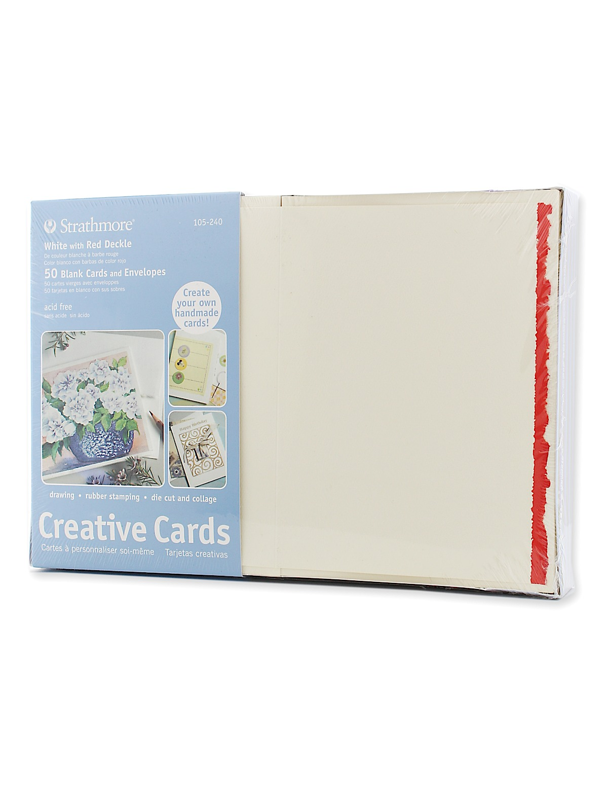 Strathmore Blank Greeting Cards With Envelopes Misterart