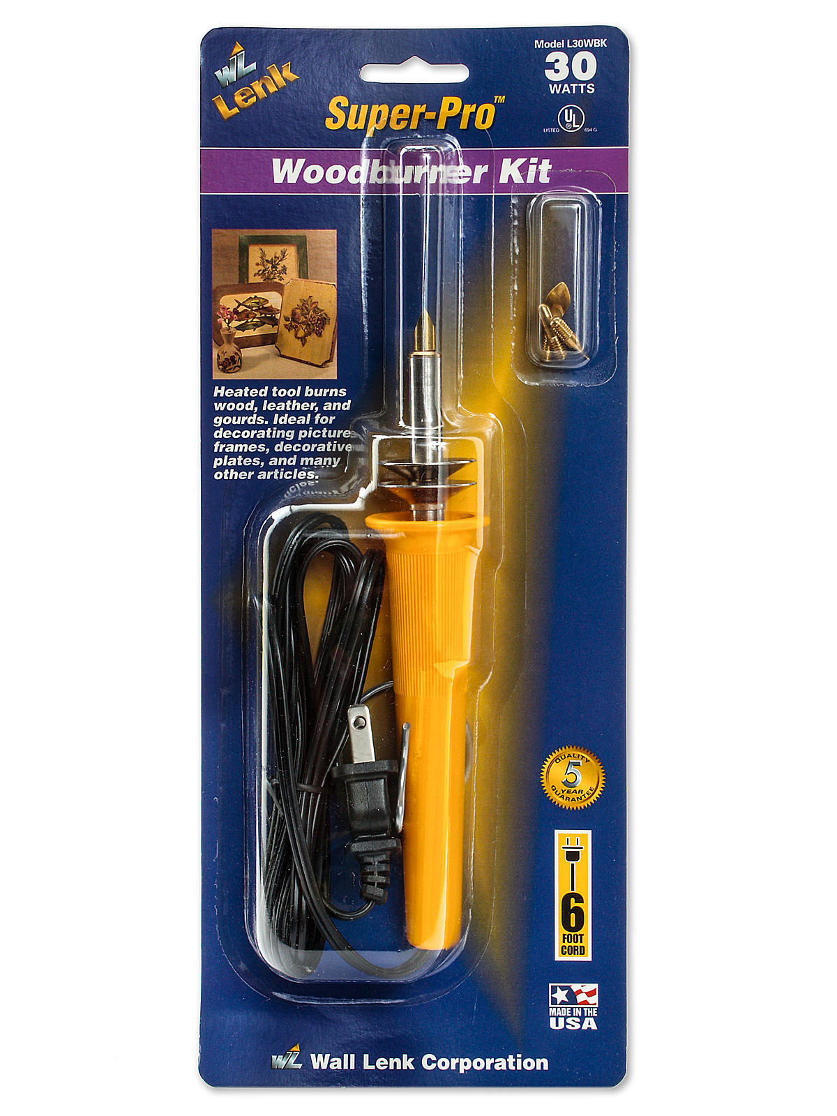Super-Pro Woodburning Kit