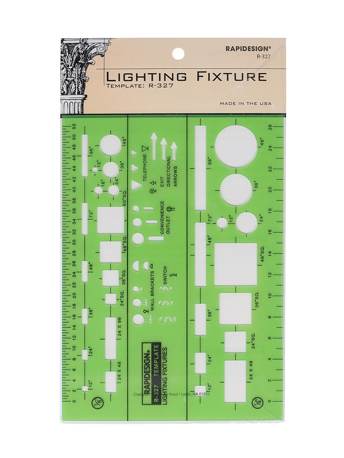 Electrical Drafting And Design Templates Basic Lighting Fixture Symbols Each