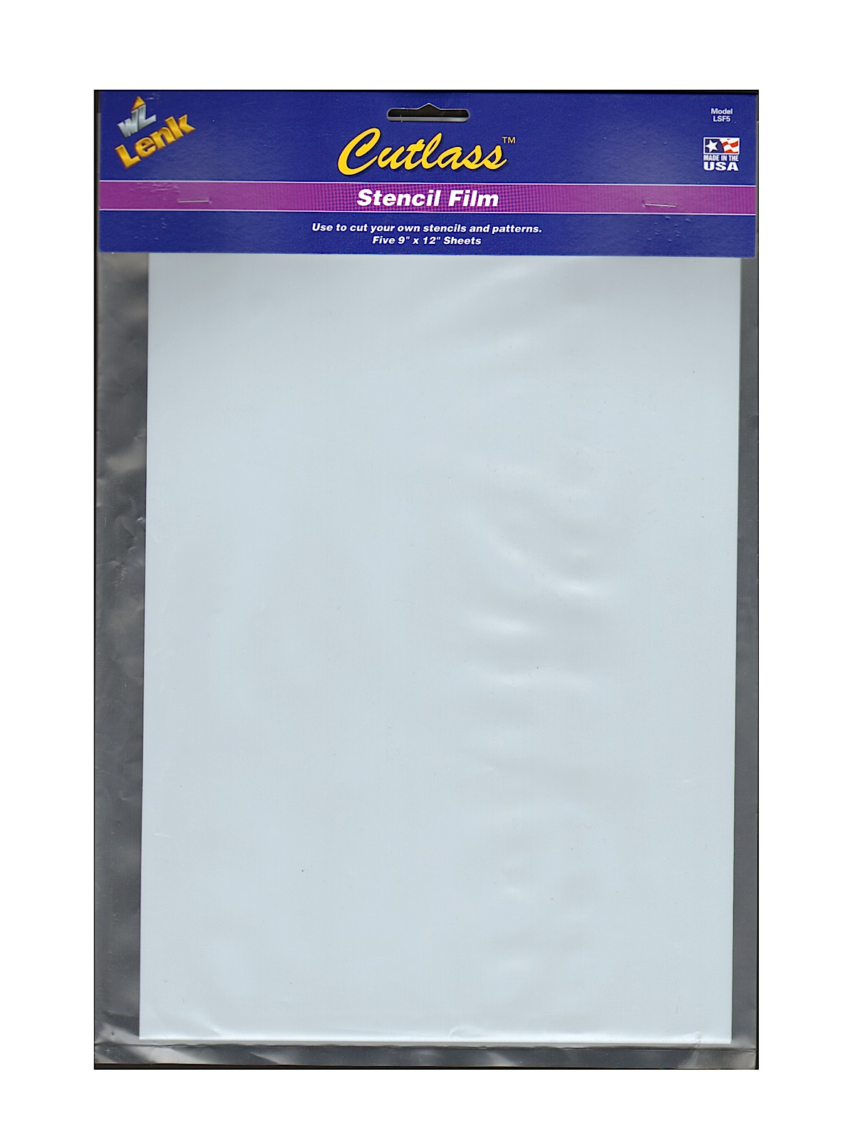 Stencil Film, Pack of 5