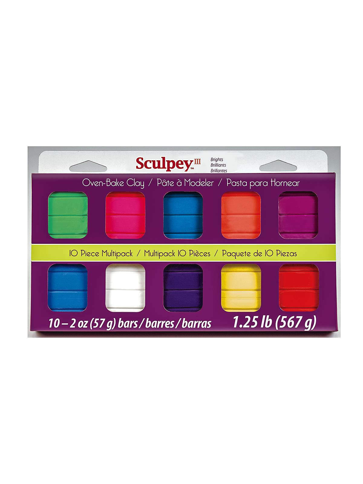 10-Piece III Multipacks brights