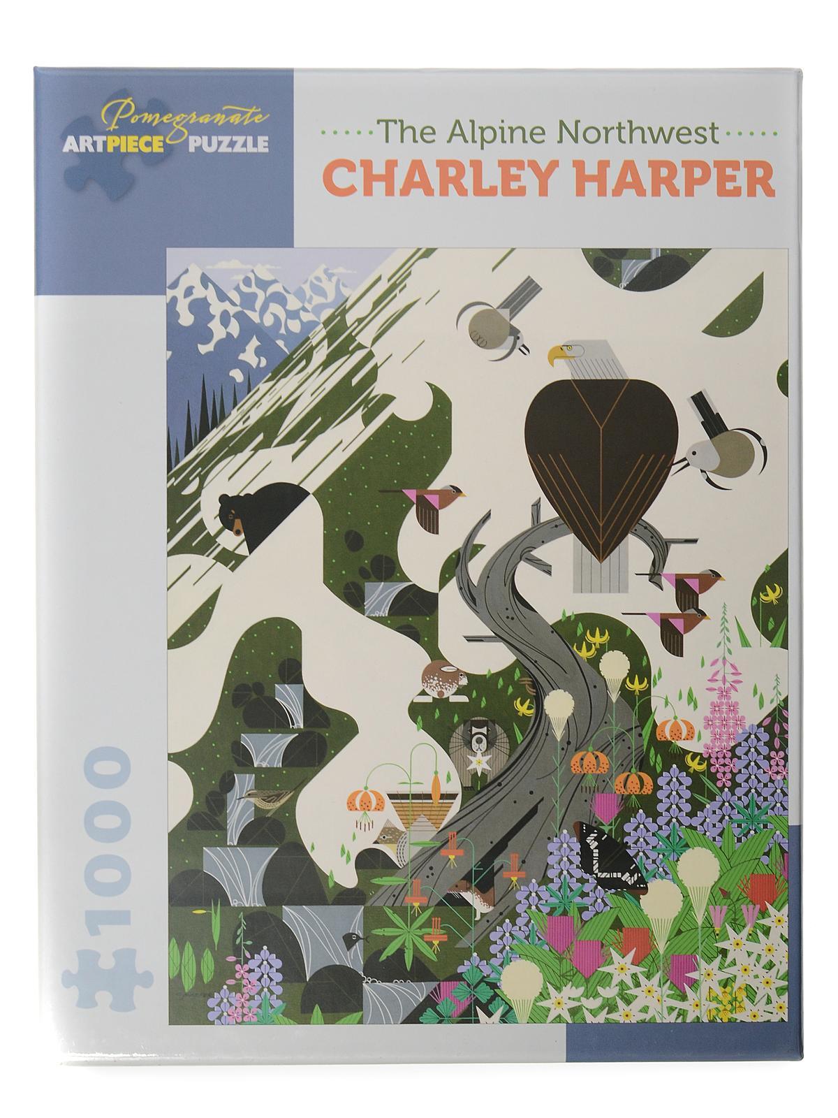 1000-piece Jigsaw Puzzles Charley Harper: The Alpine Northwest