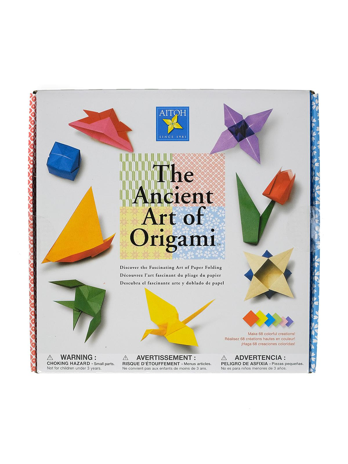 The Ancient Art Of Origami Kit Each