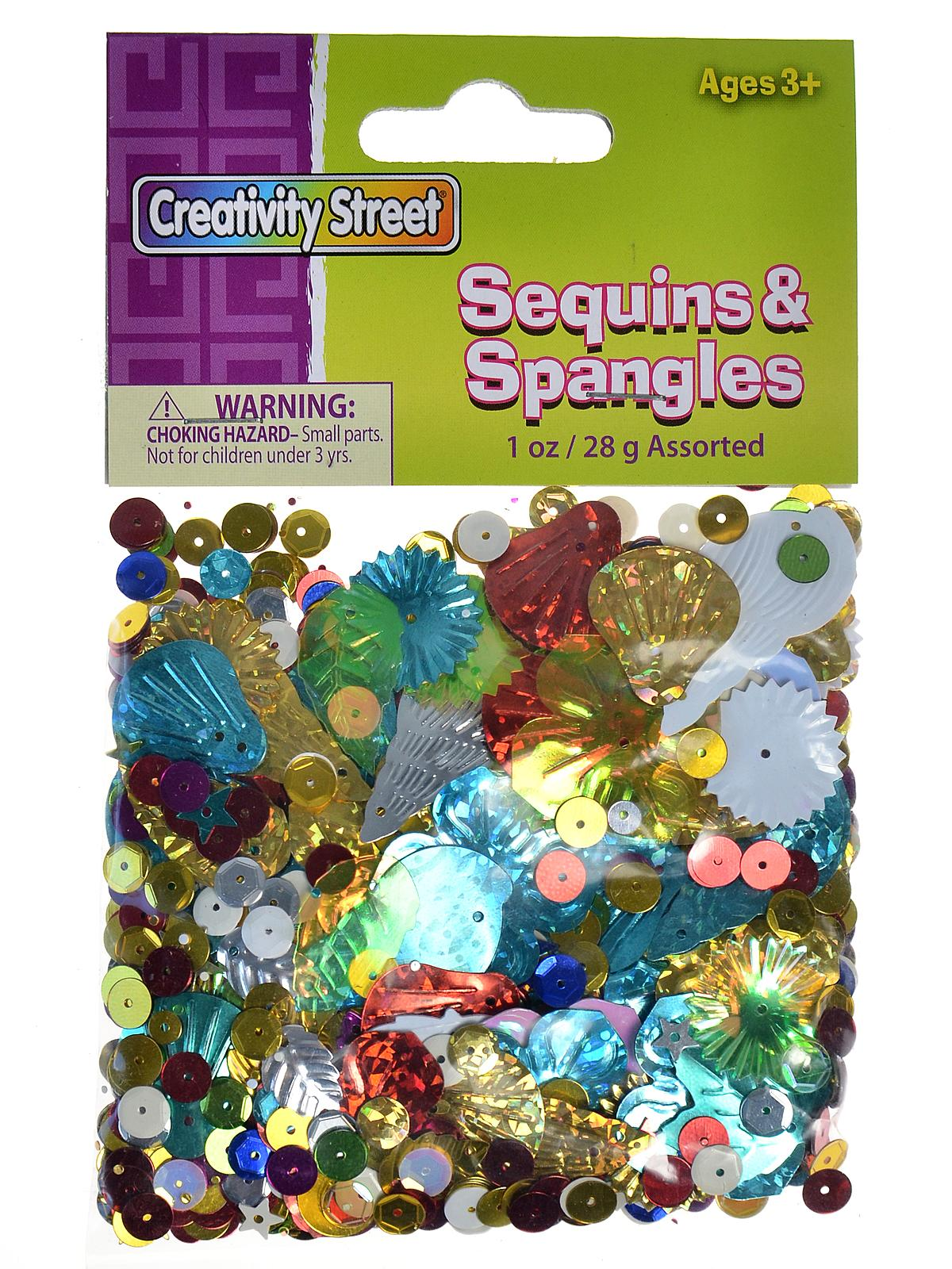 Glittering Sequins with Spangles