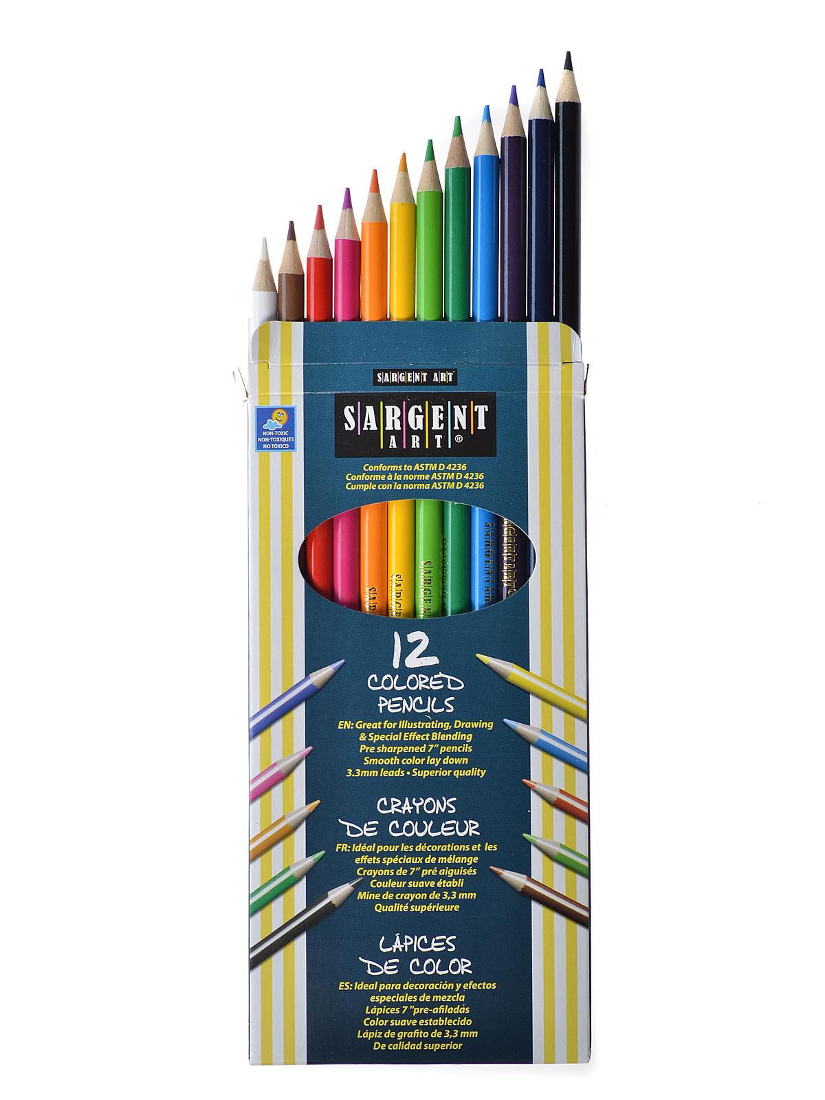 Sargent Colored Pencils Review 28 Images Sargent 174 3