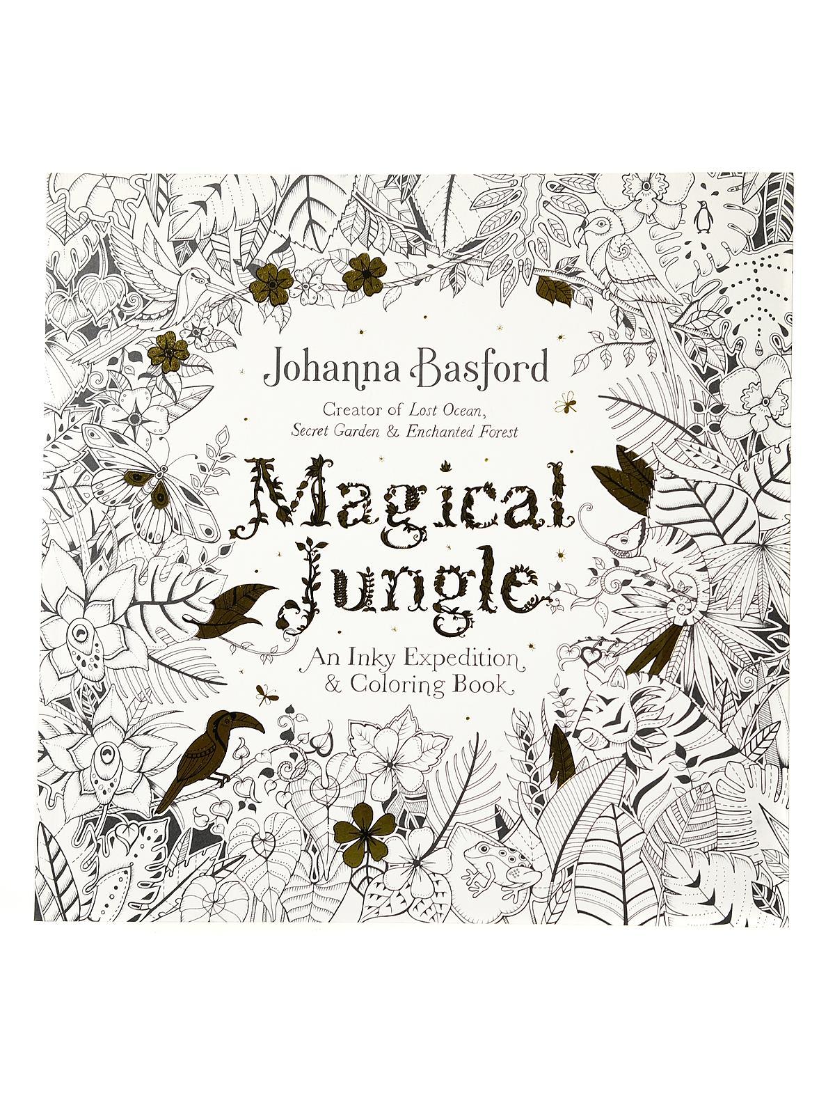 Magical Jungle Coloring Book | MisterArt.com