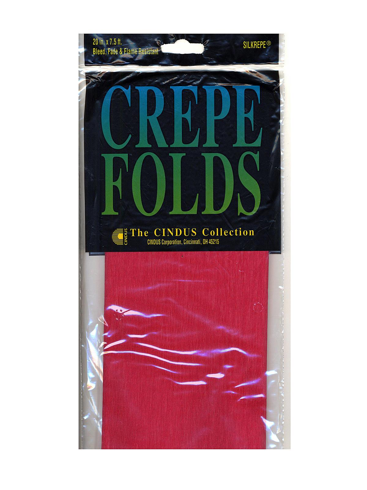 crepe paper folds