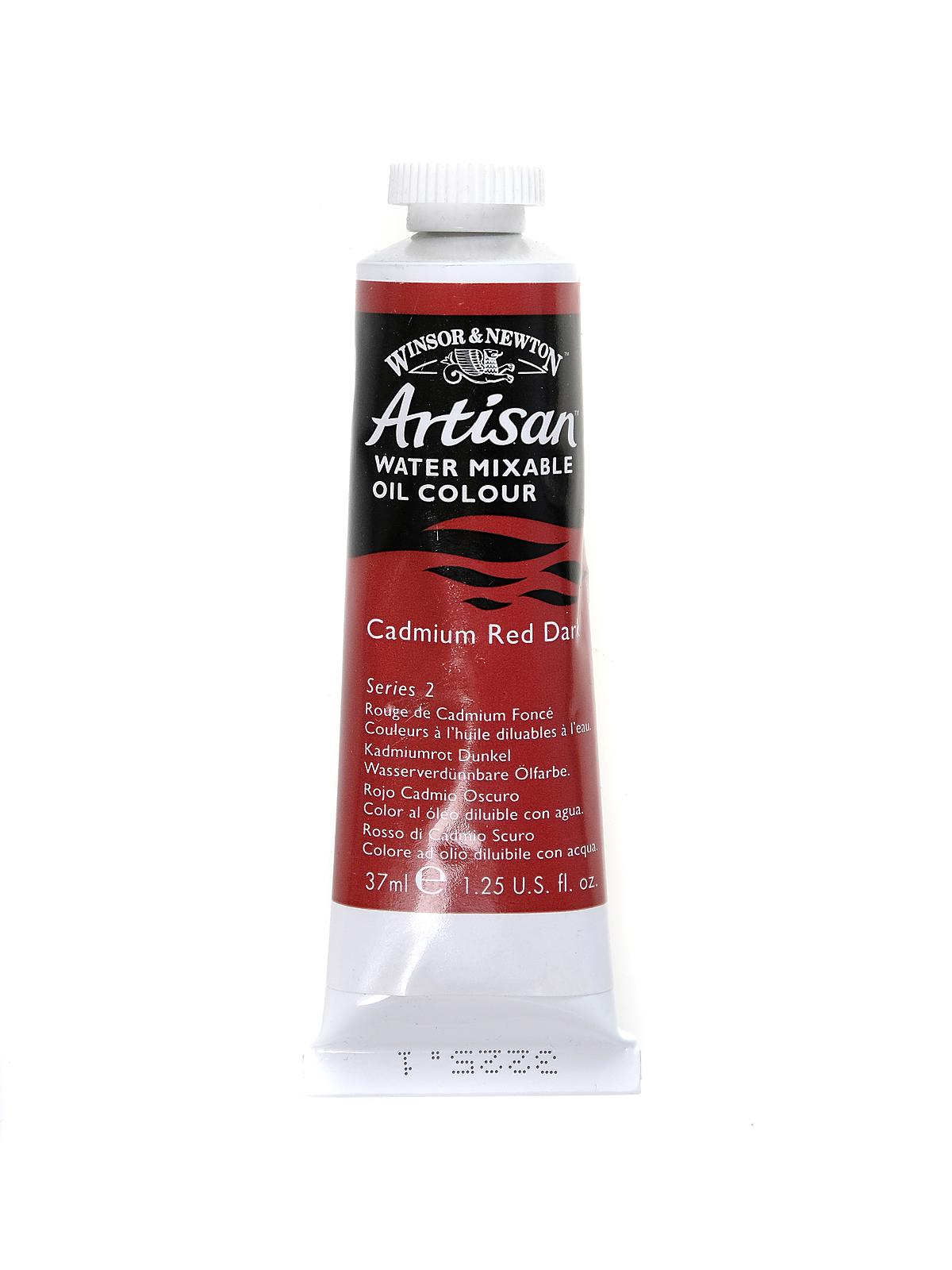 Artisan Water Mixable Oil Colours Cadmium Red Dark 37 Ml