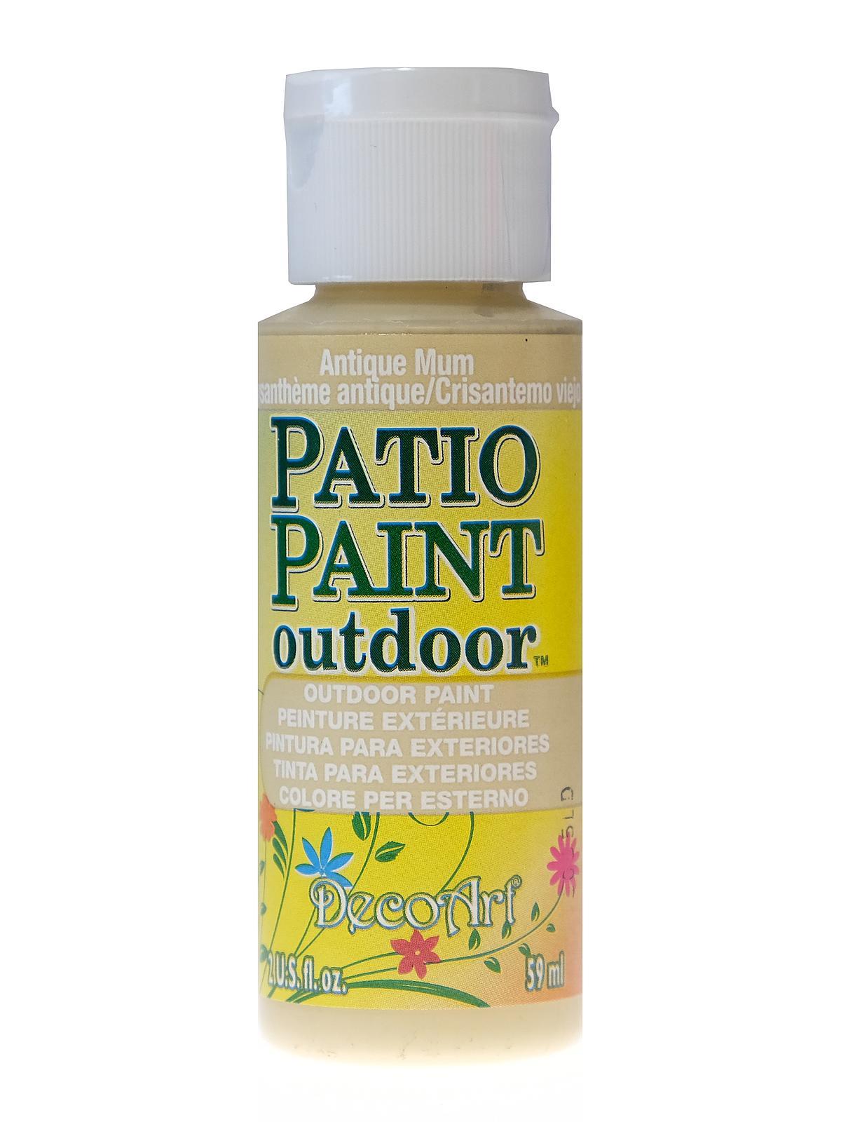 Patio Paint Antique Mum 2 Oz
