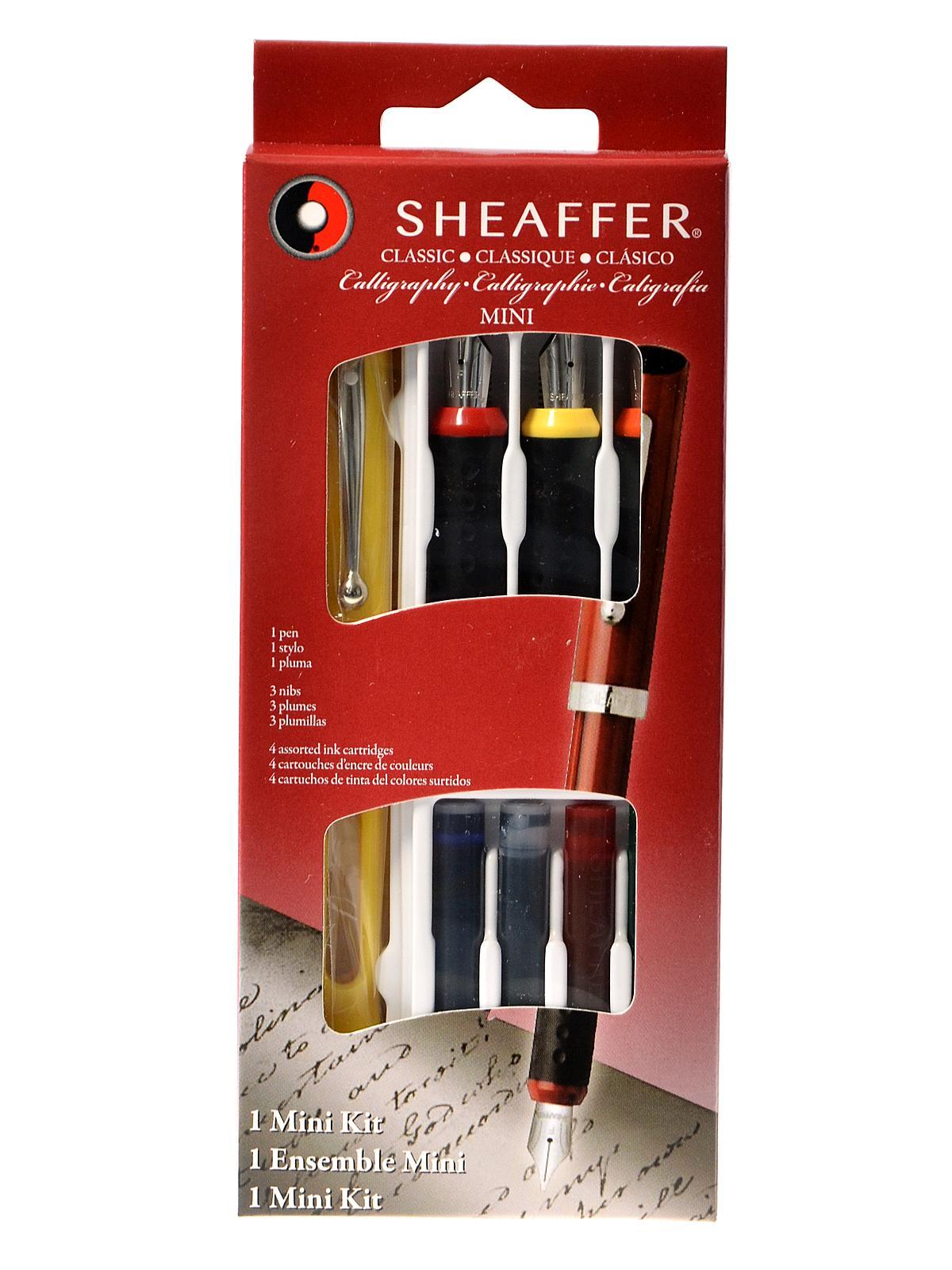 Sheaffer calligraphy mini kit misterart