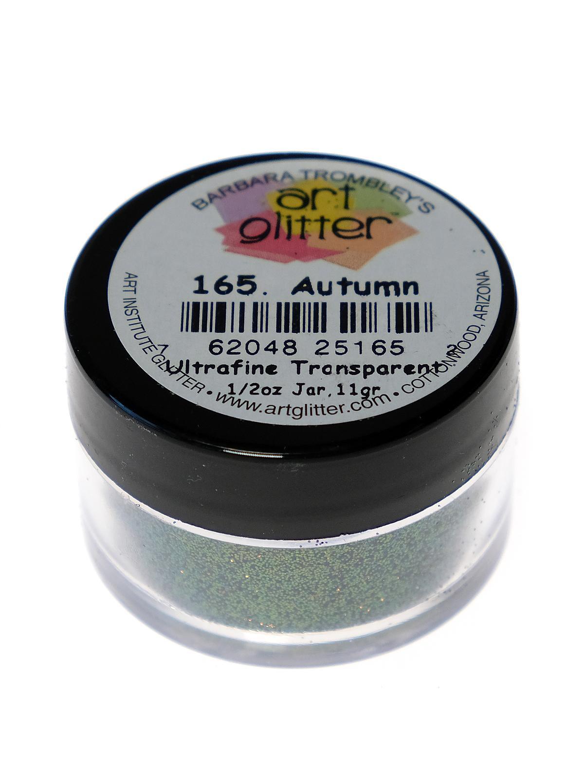 Ultrafine Transparent Glitter Autumn 1 2 Oz. Jar