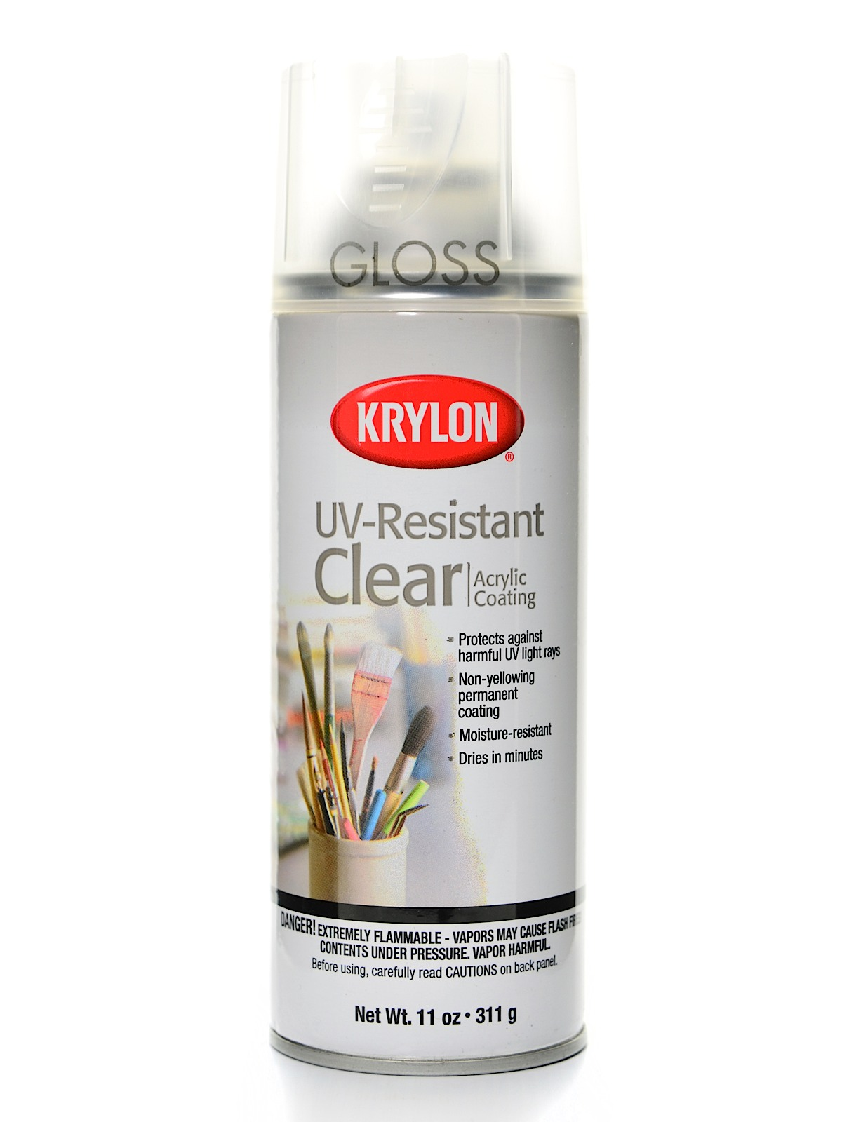Spray Uv Resistant Clear Gloss 11 Oz