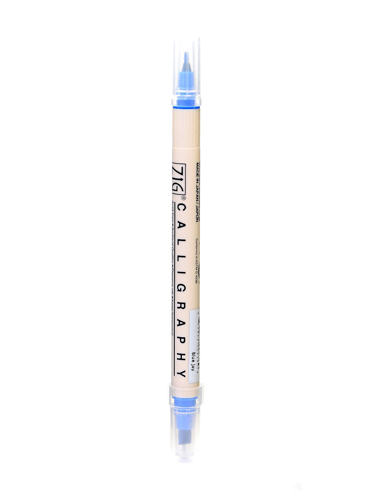 Zig Memory System Twin Tip Calligraphy Pen