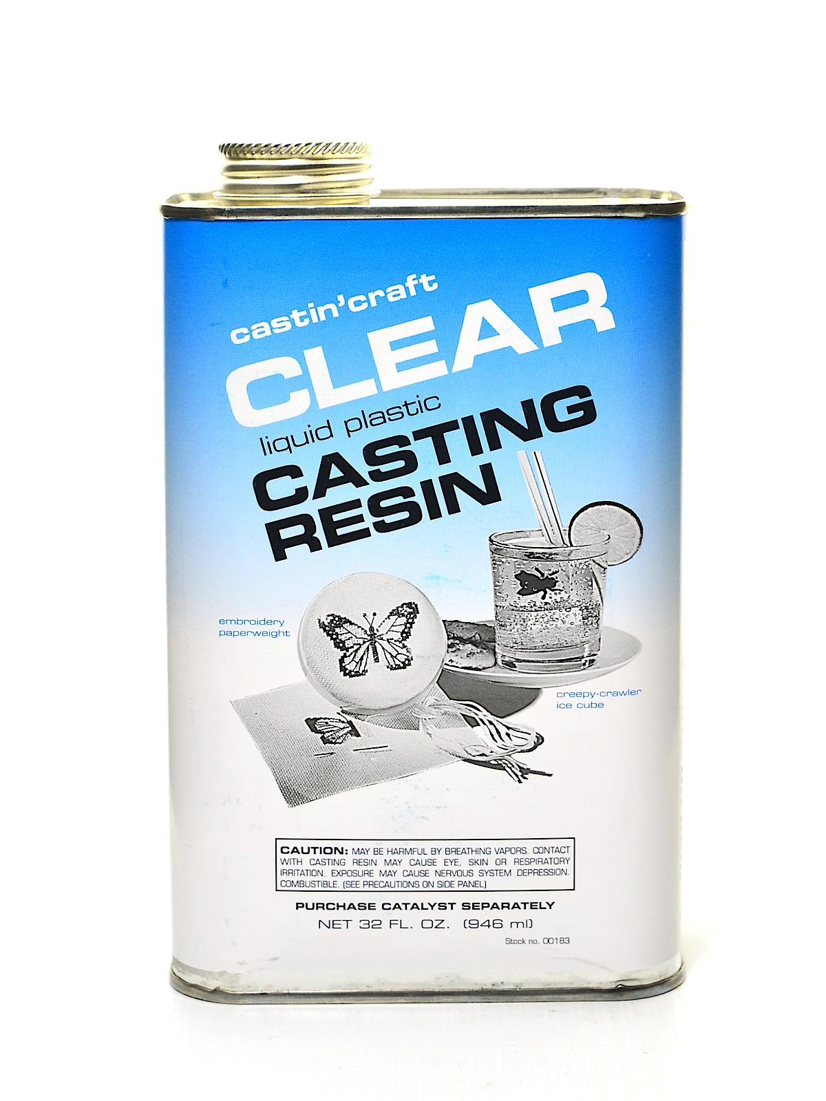 Castin craft color pigment - Clear Polyester Casting Resin 32 Oz Can
