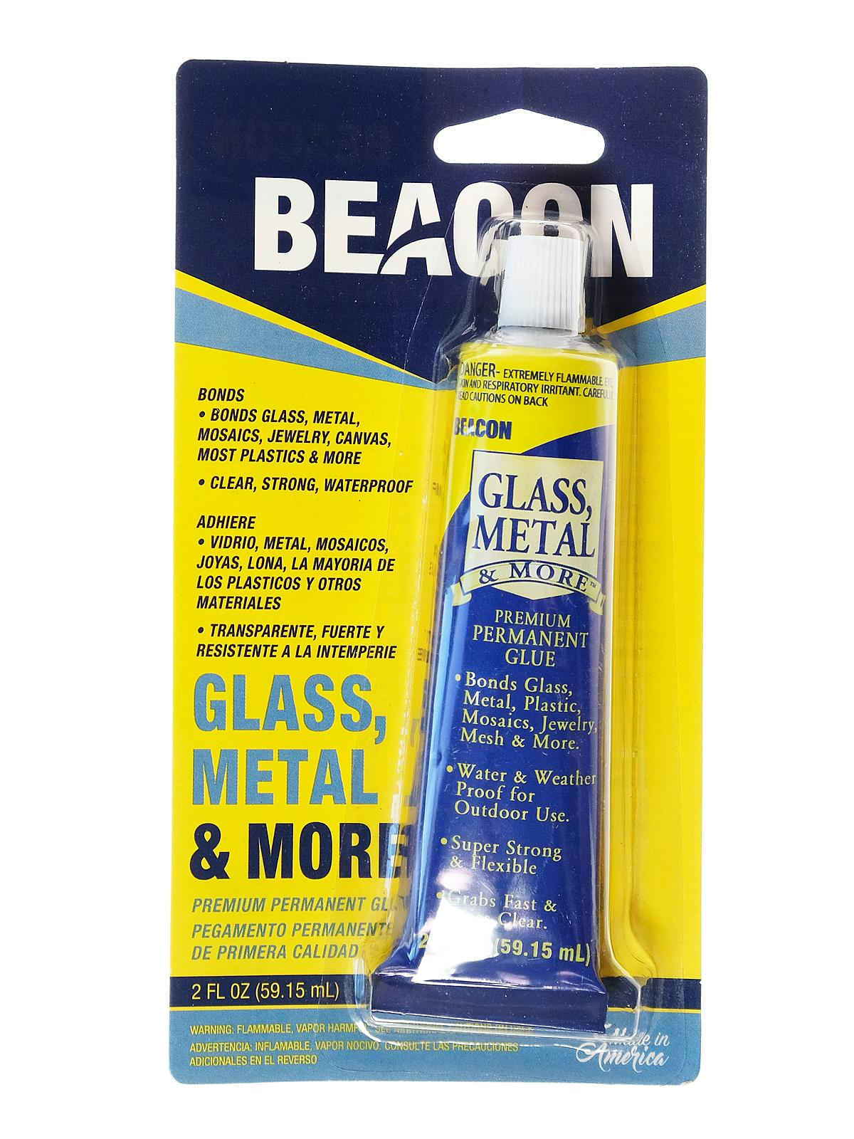 Glass, Metal And More Premium Permanent Glue 2 Oz.
