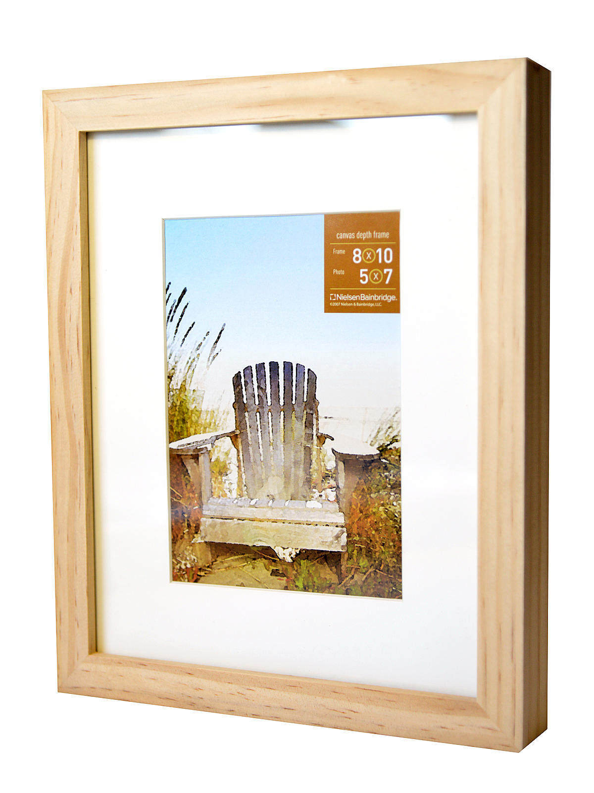gallery wood frames for canvas 8 in x 10 in natural 5 in - Natural Wood Picture Frames