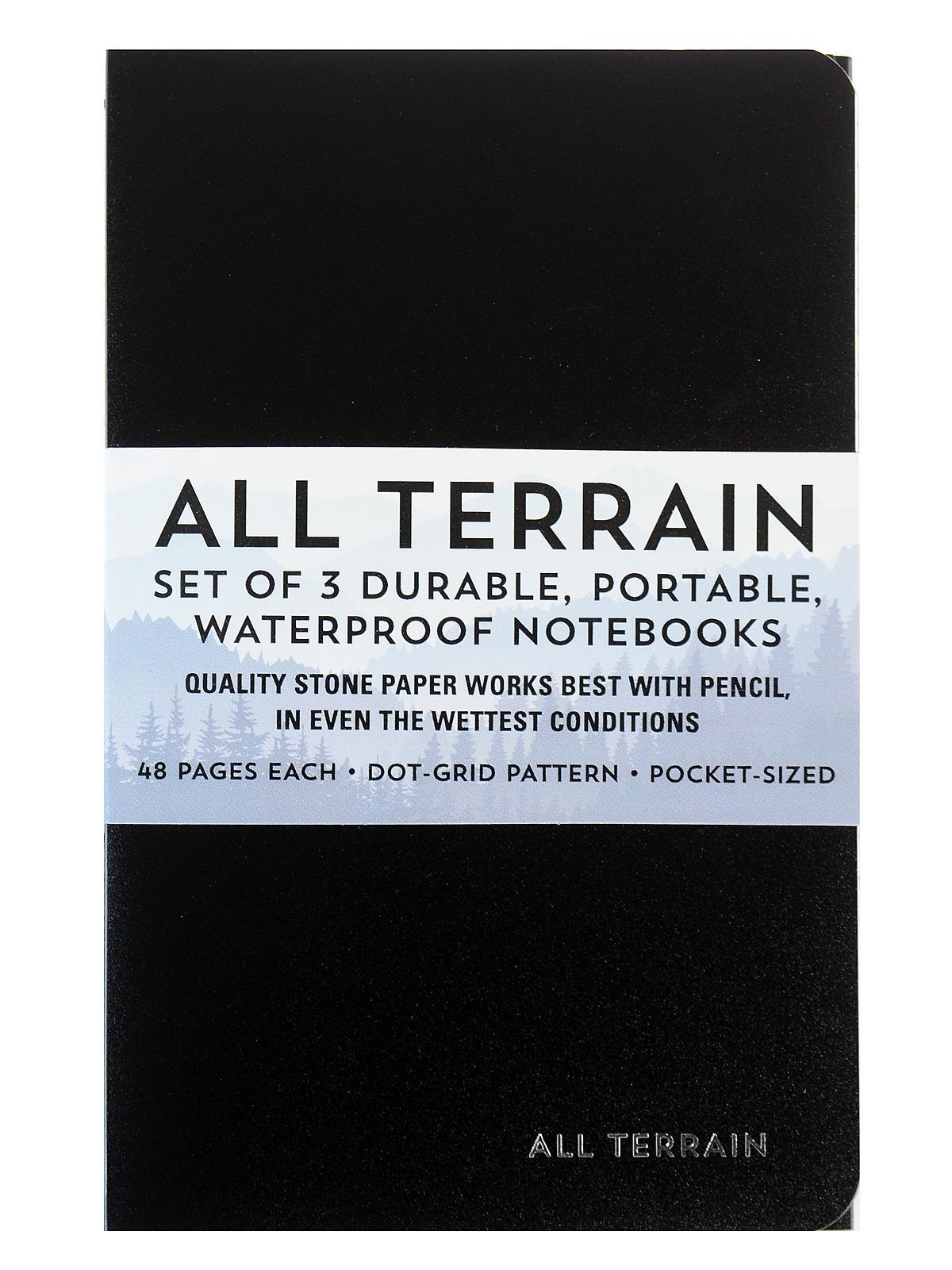 bca5d8486e21 Peter Pauper All Terrain: The Waterproof Notebook | MisterArt.com