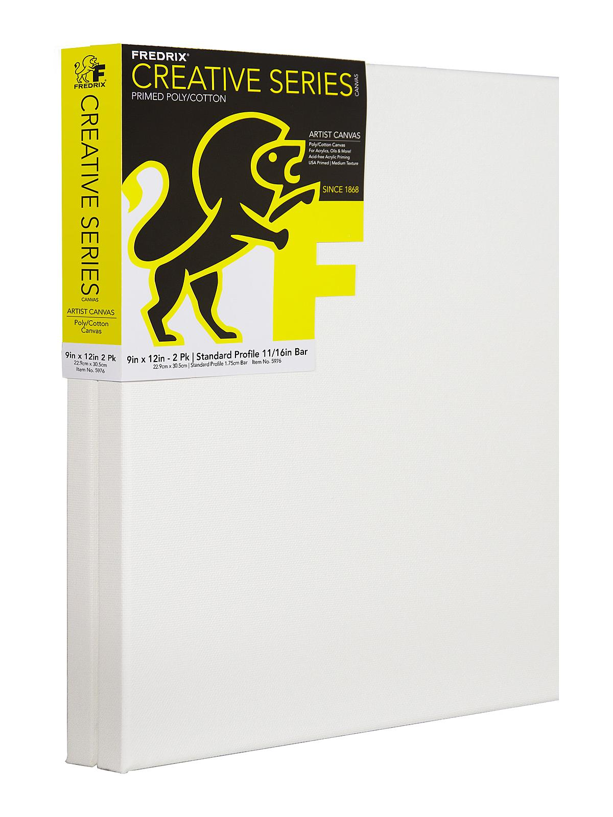 Fredrix Value Series Traditional Stretched Canvas 2 packs ...