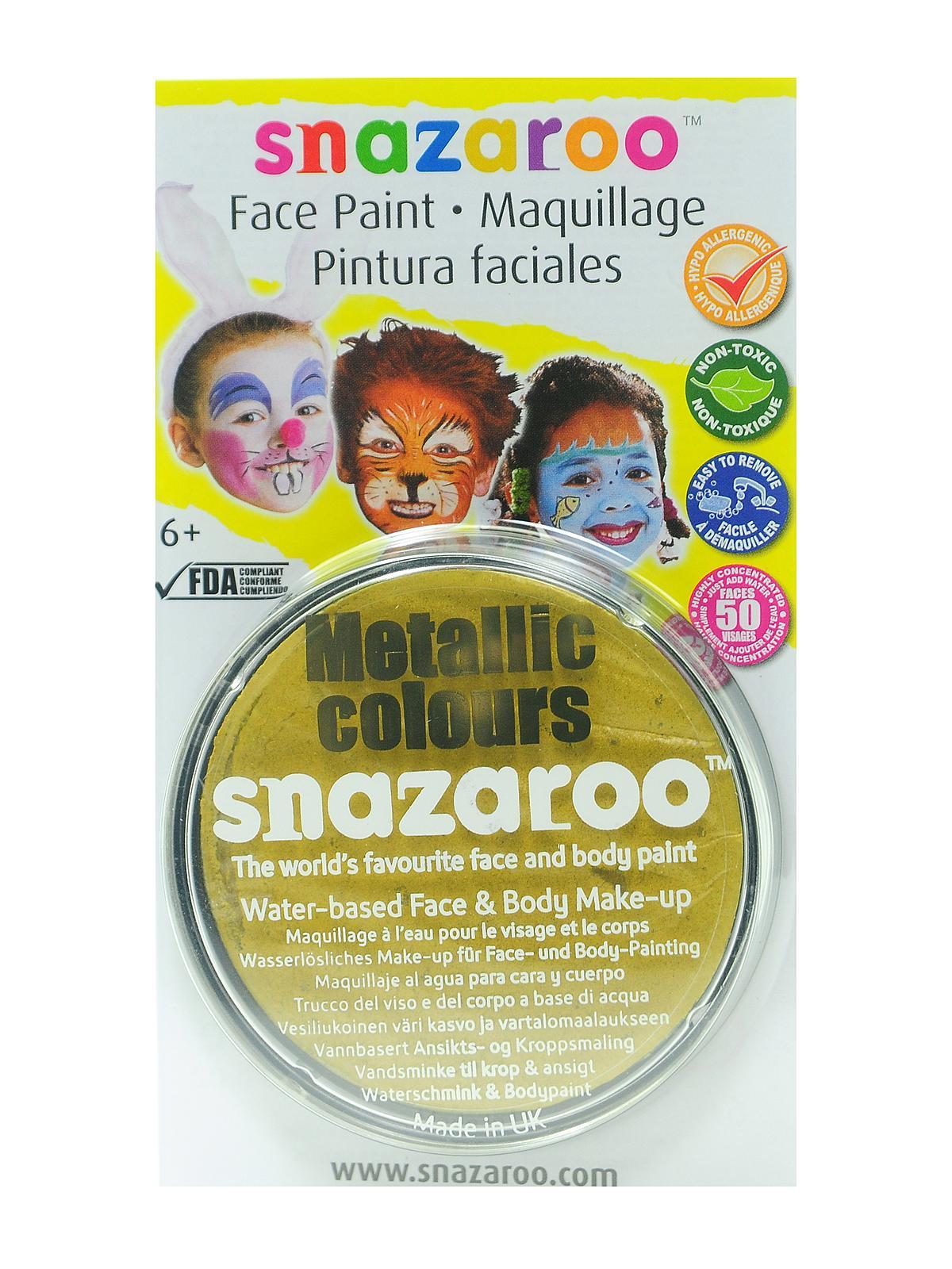 S Ochre Face Paint