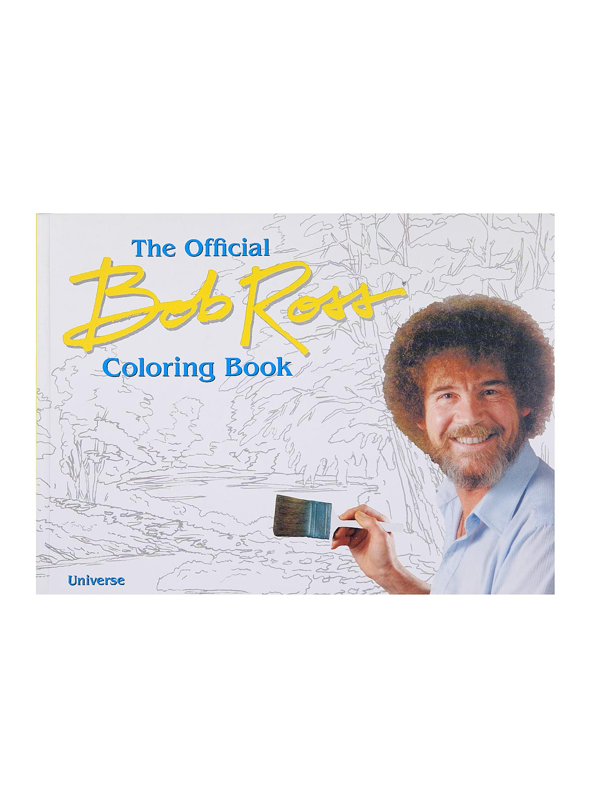 The Official Bob Ross Coloring Book