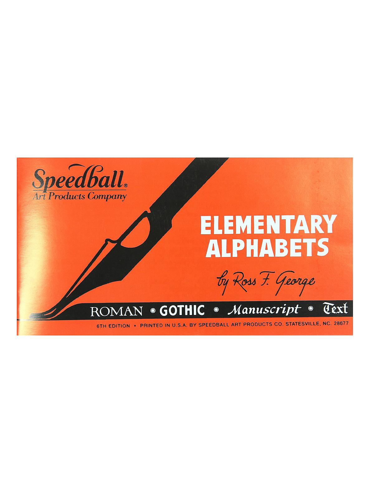Elementary Alphabets, 6th Edition, 24 Pages