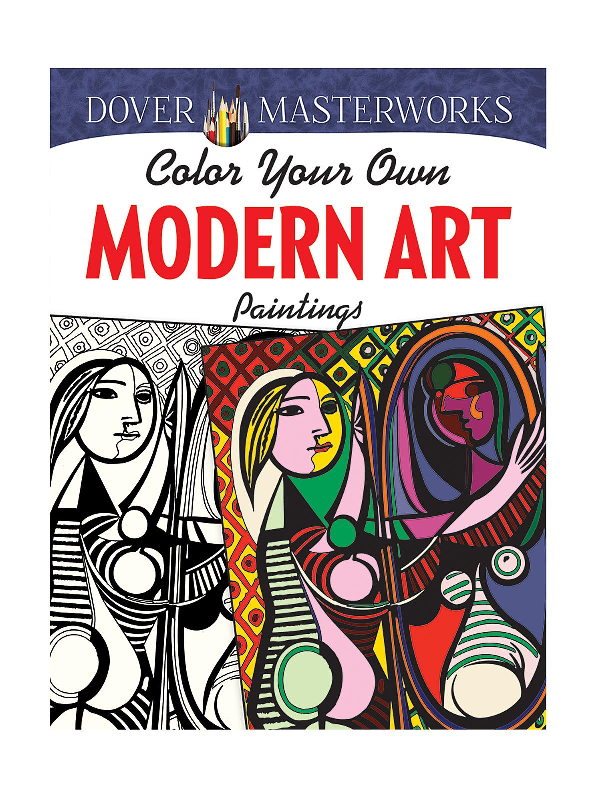Masterworks Color Your Own Coloring Book Modern Art Masterpieces